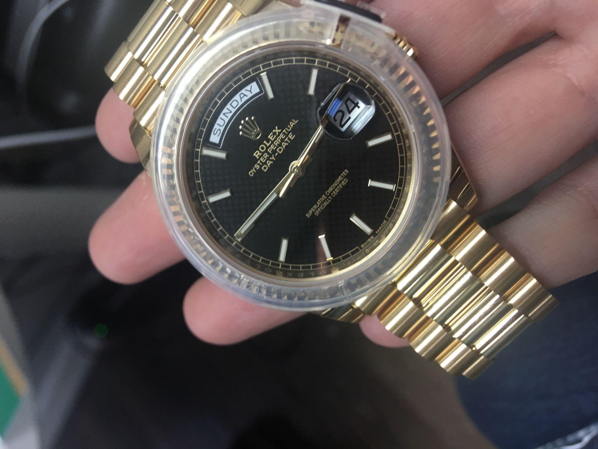 Rolex President Day Date 40mm yg Ref 228238