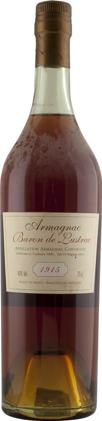 Armagnac 1915 Baron de Lustrac