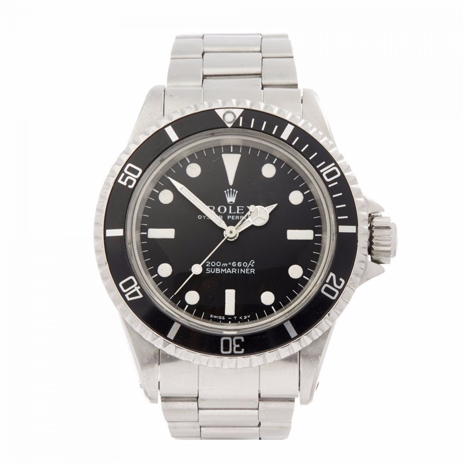 ROLEX SUBMARINER METERS FIRST STAINLESS STEEL MEN'S 5513