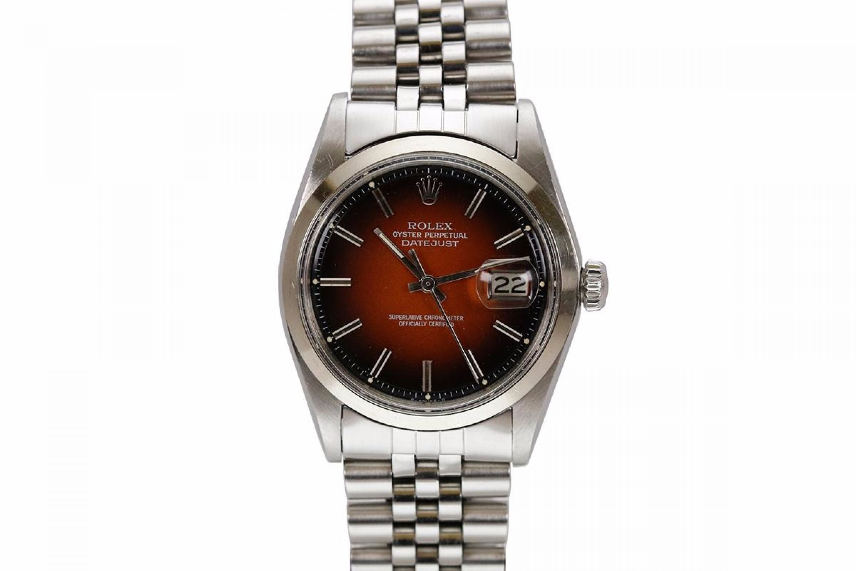 Rolex Datejust Ref 1601 Red Vignette Dial