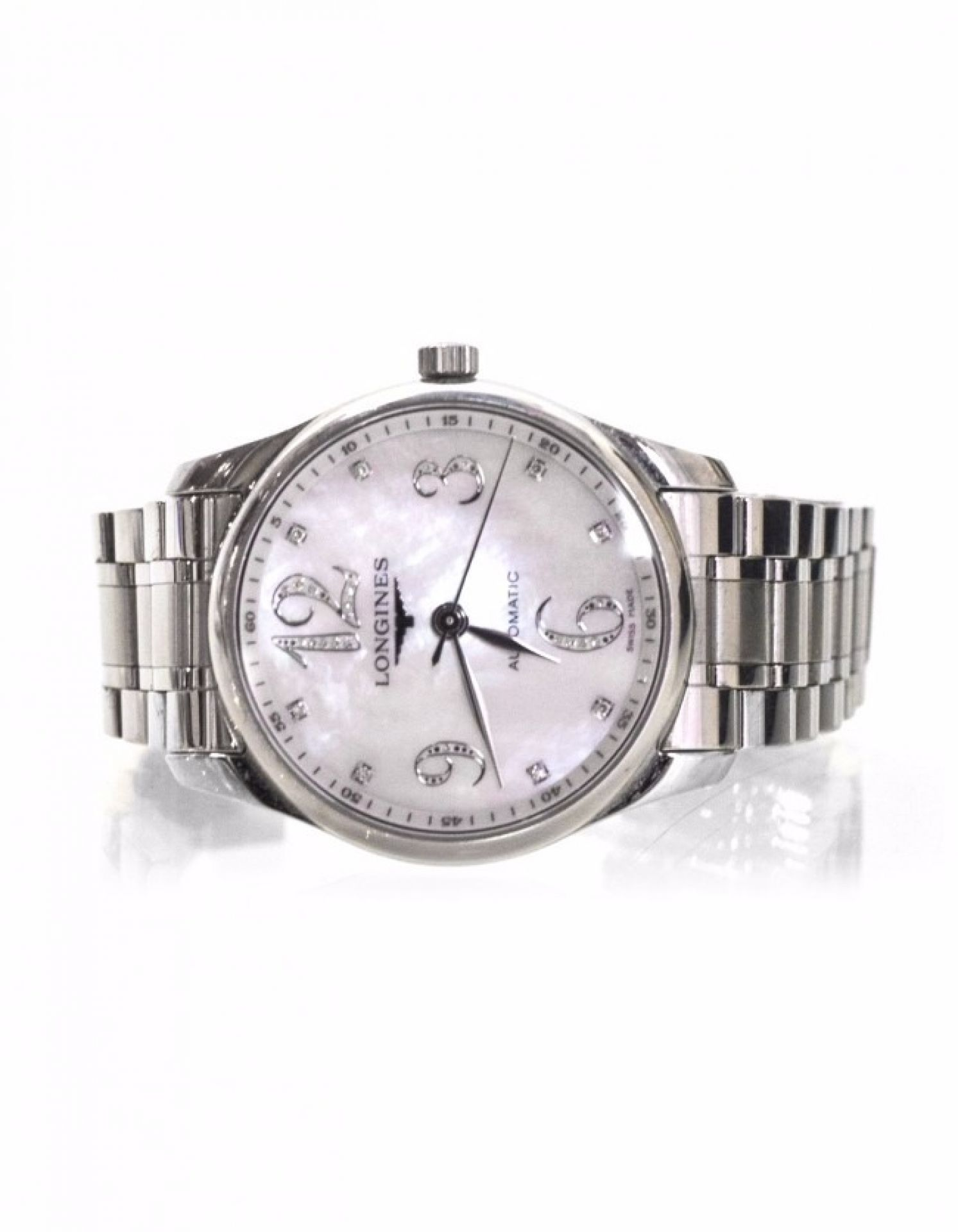 Longines Stainless Steel Masters Collection Watch