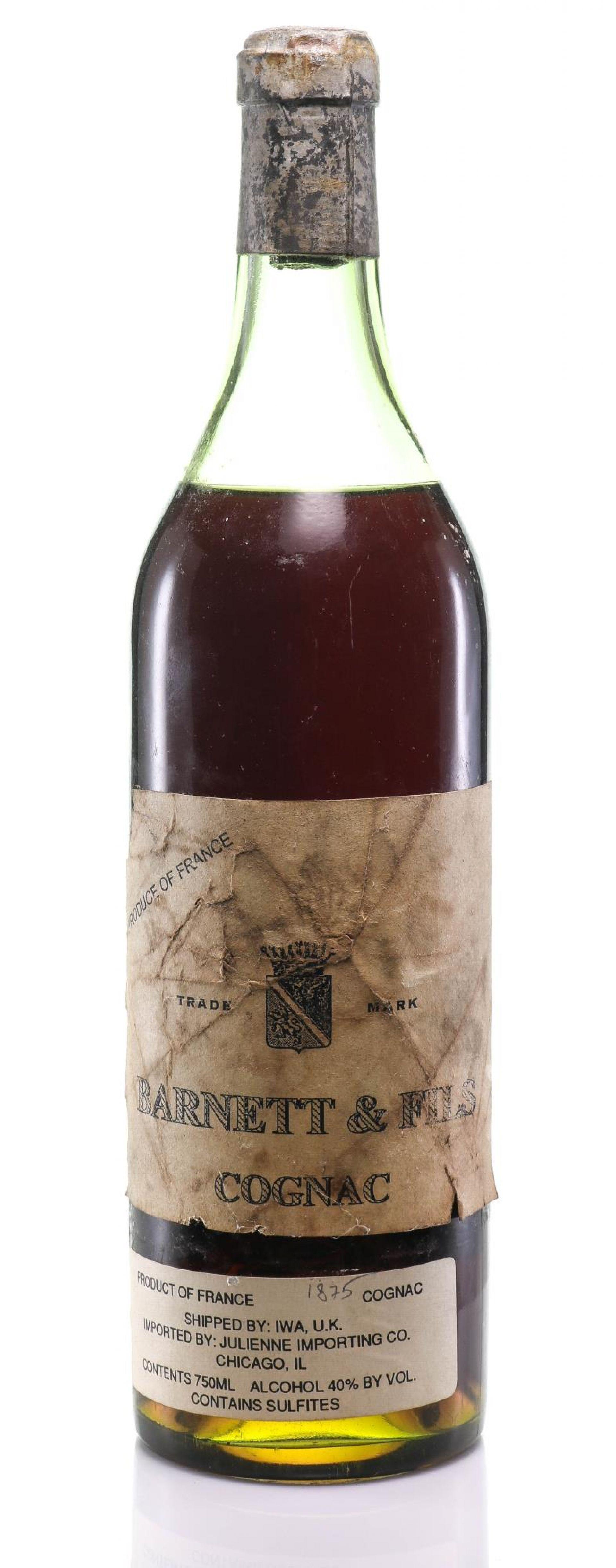 Cognac 1875 Barnett US import