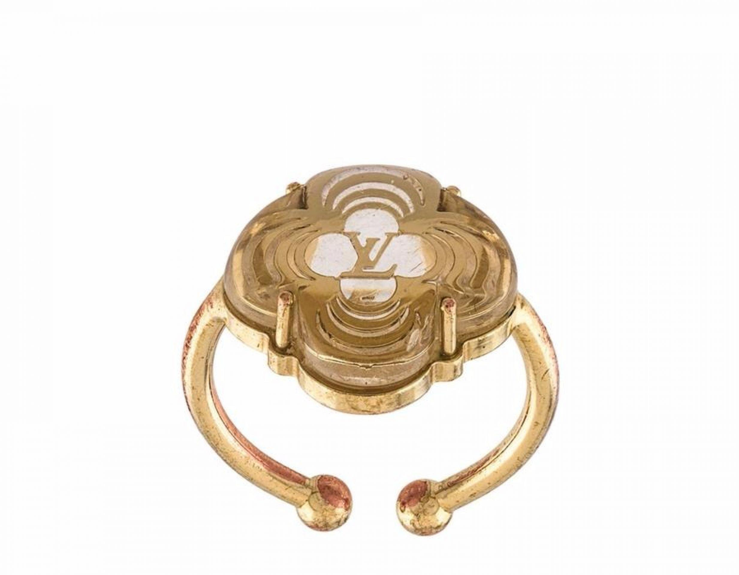 Louis Vuitton Gold A La Foile Ring