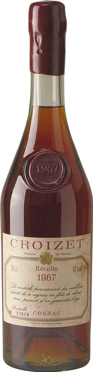 Cognac Croizet 1967 Grande Champagne