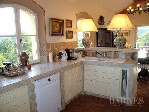 Grimaud - Charming quiet villa with beautiful panoramic view and guest house