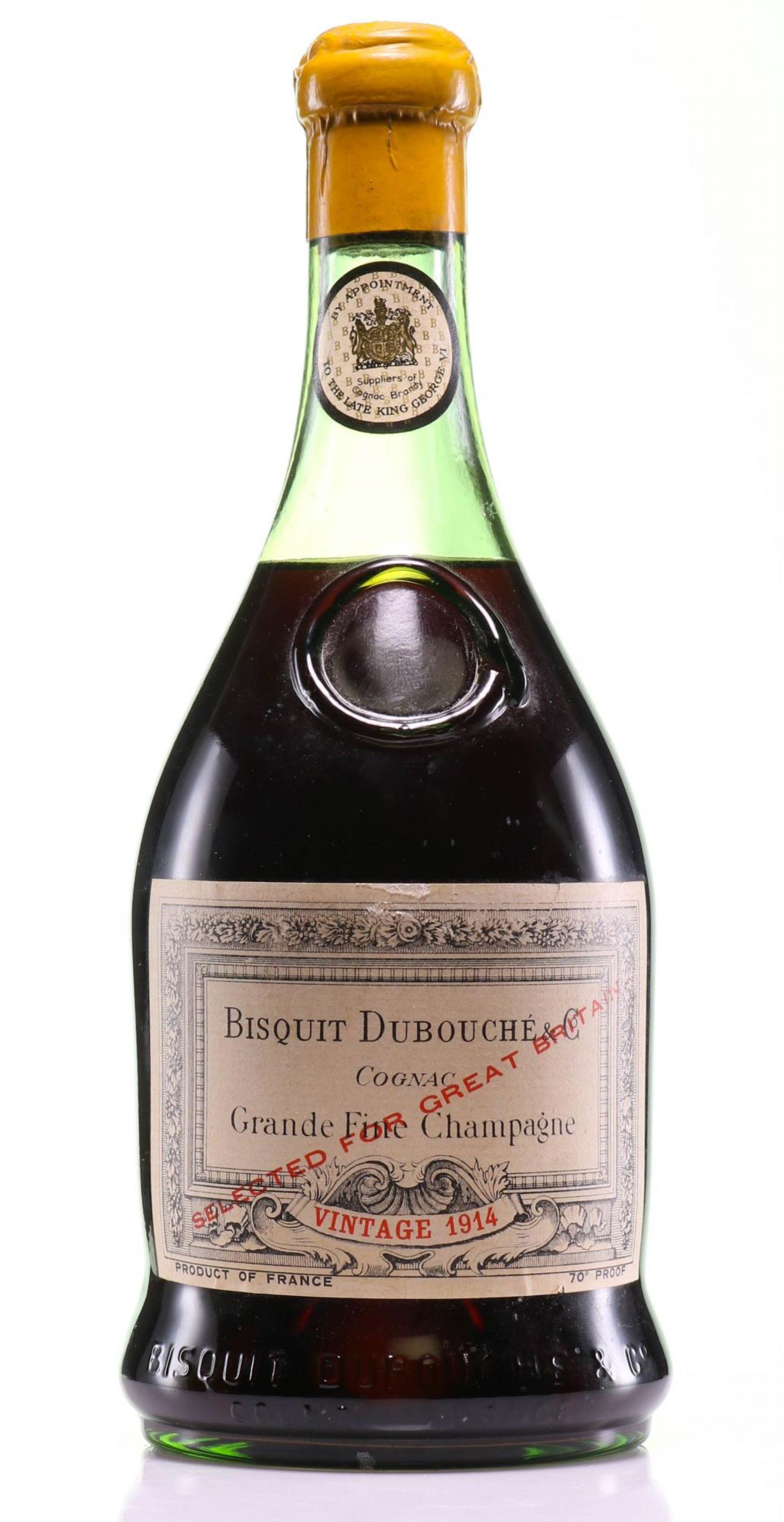 Cognac 1914 Bisquit Dubouché & Co