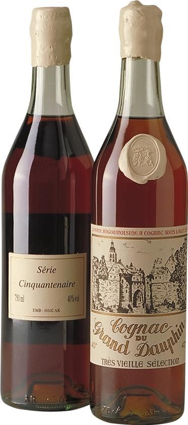 Cognac 1950 Grand Dauphin Cinquantenaire, Très Vieille
