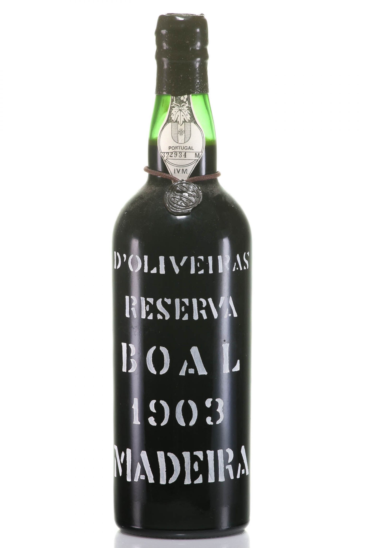 Madeira 1903 D'Oliveiras Boal