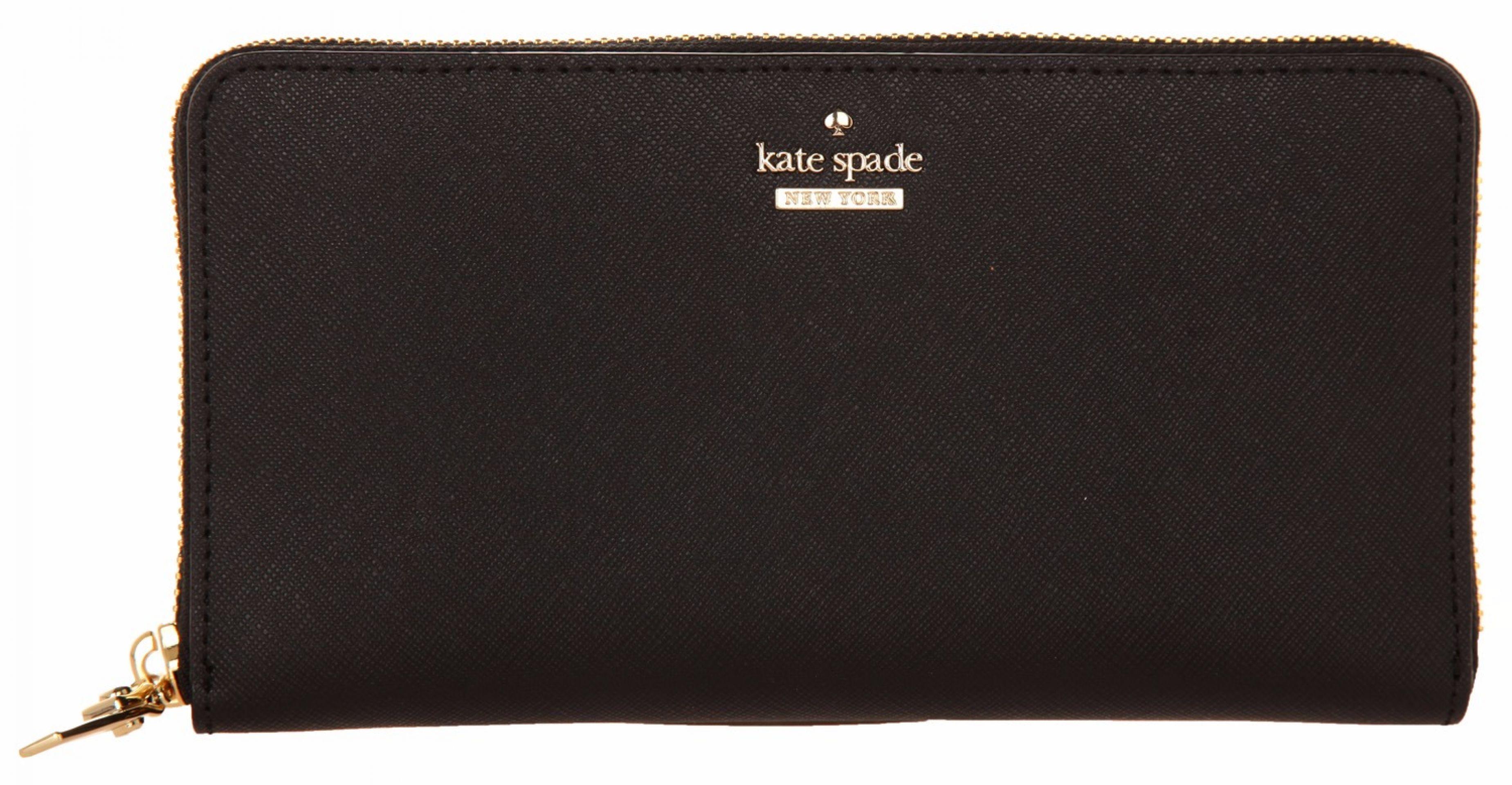 KATE SPADE WOMEN WALLET CAMERON STREET LACEY BLACK PWRU5073B-001