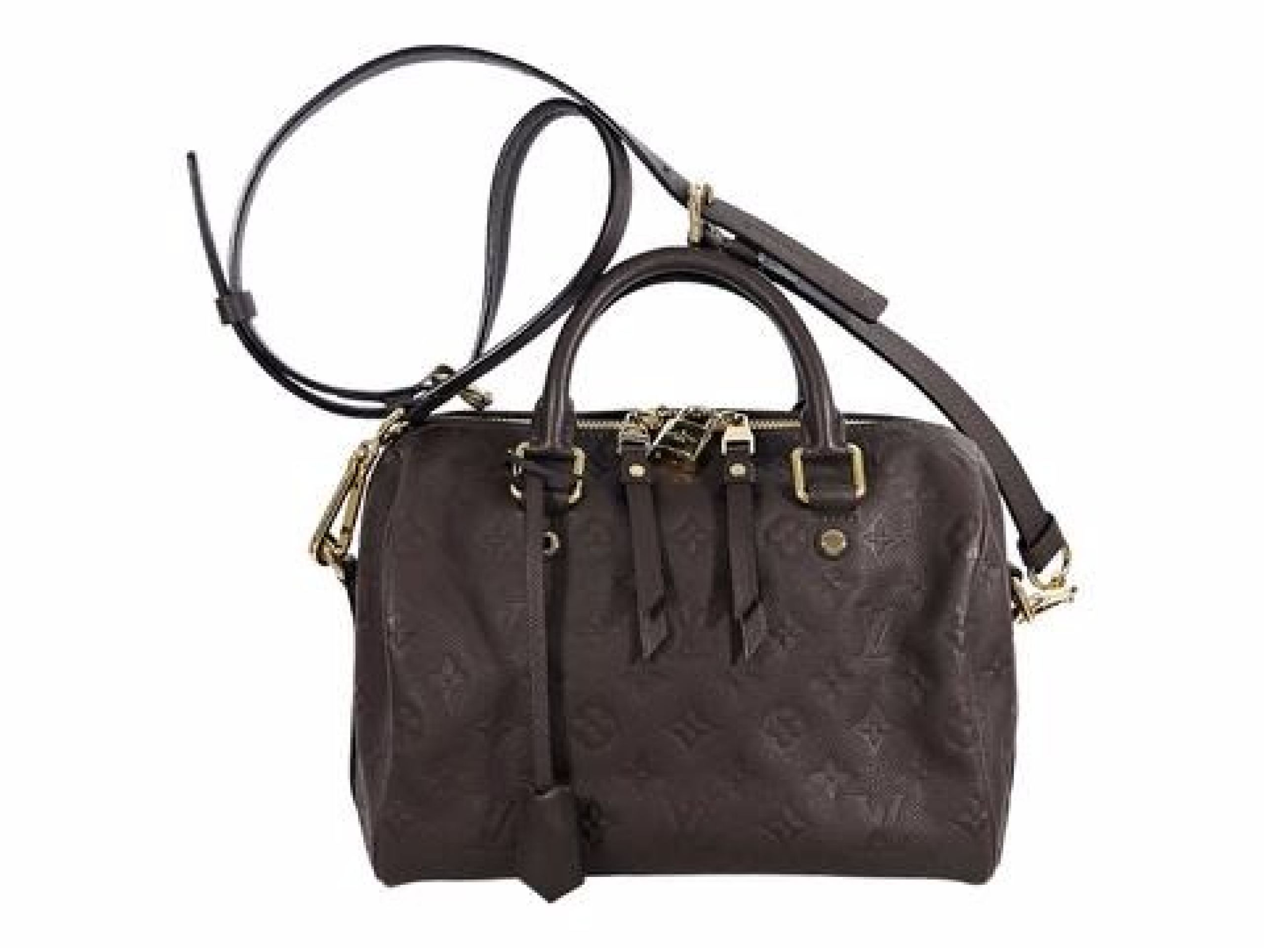 Brown Louis Vuitton Empreinte Speedy 25 Bag