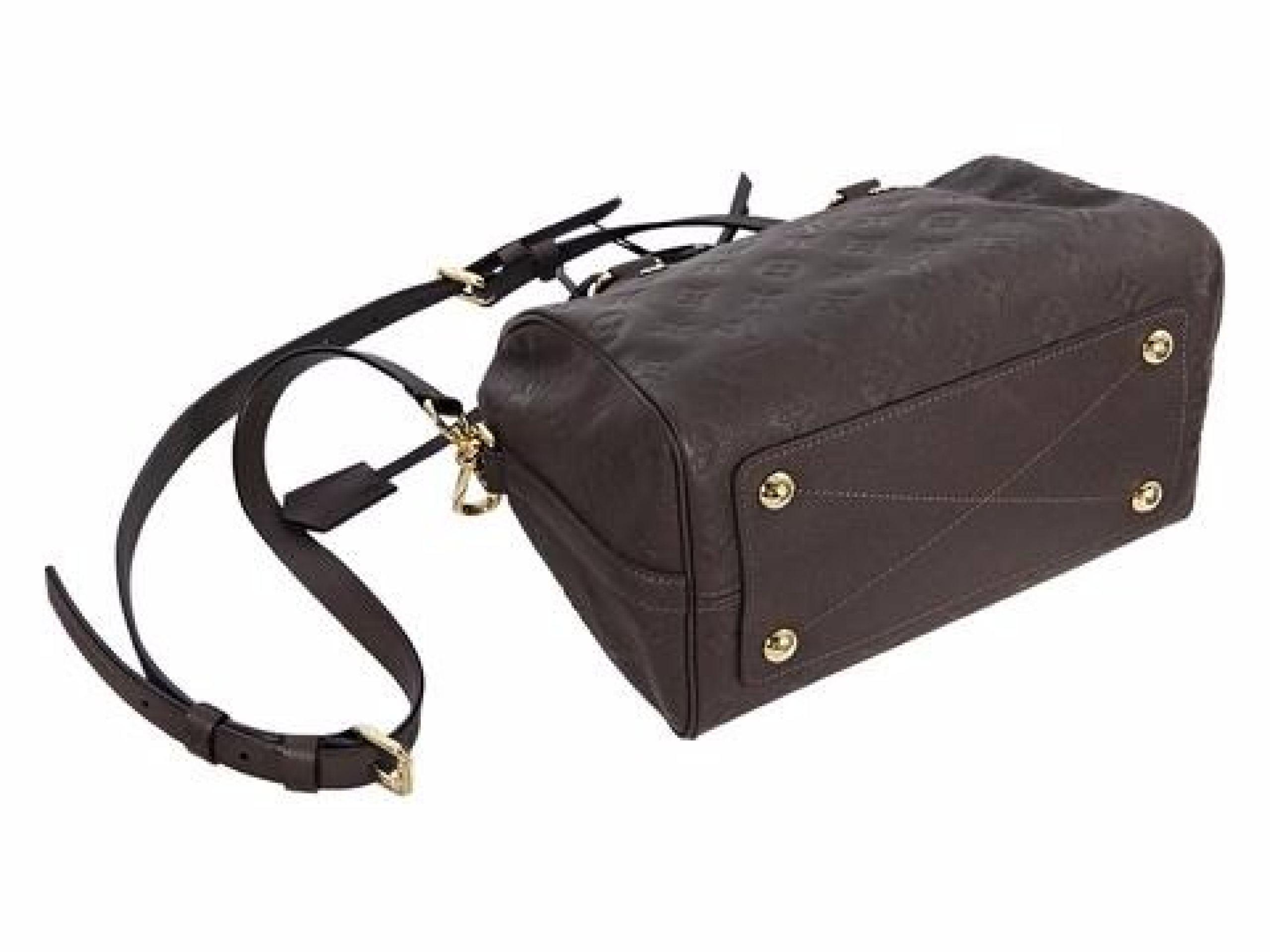 Brown Louis Vuitton Empreinte Speedy 25 Bag
