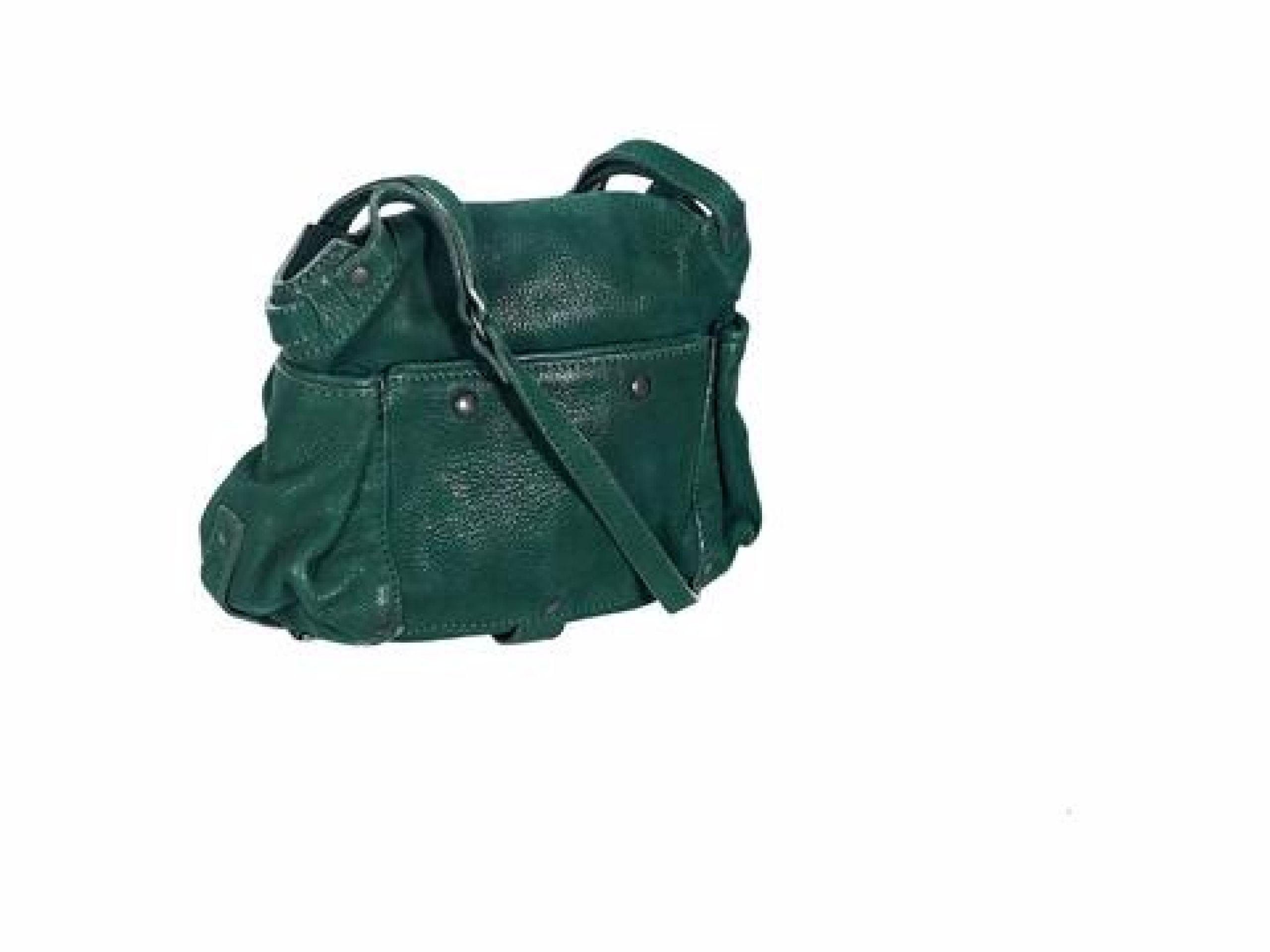 Green Jerome Dreyfuss Twee Mini Crossbody Bag