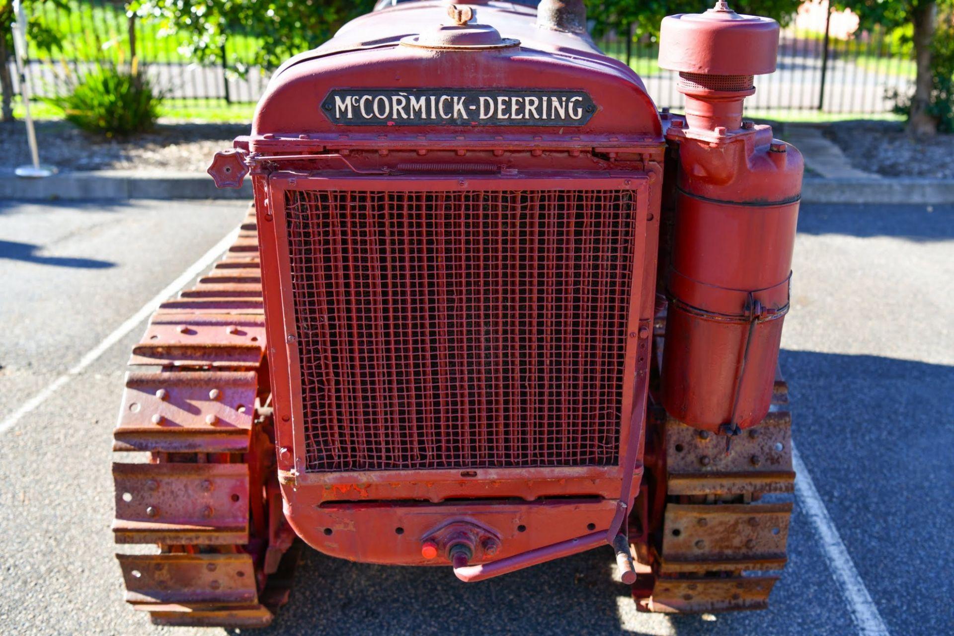 International T20 Bulldozer 'McCormick Deering' 1937