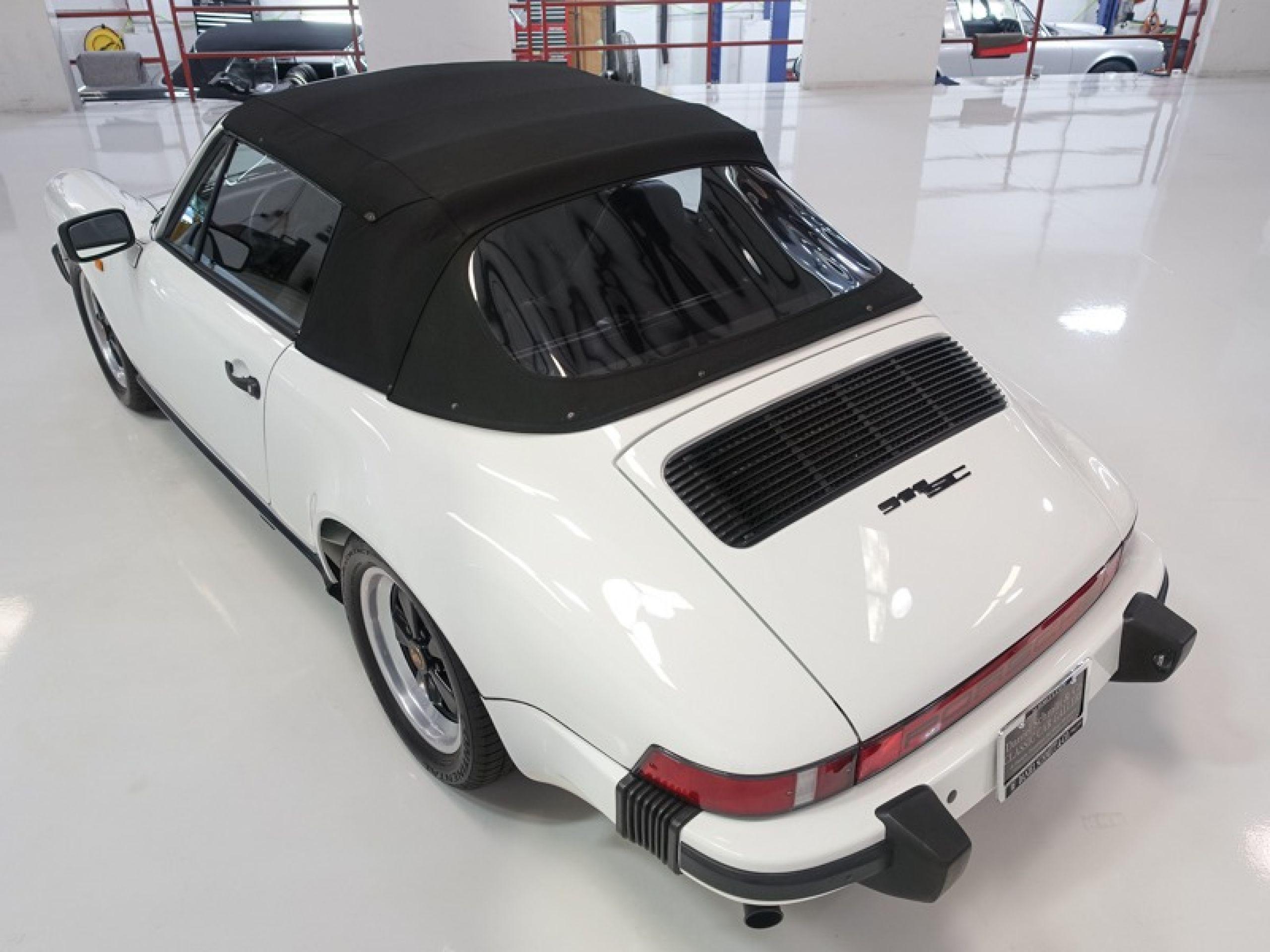 1983 Porsche 911SC 3.0 Cabriolet
