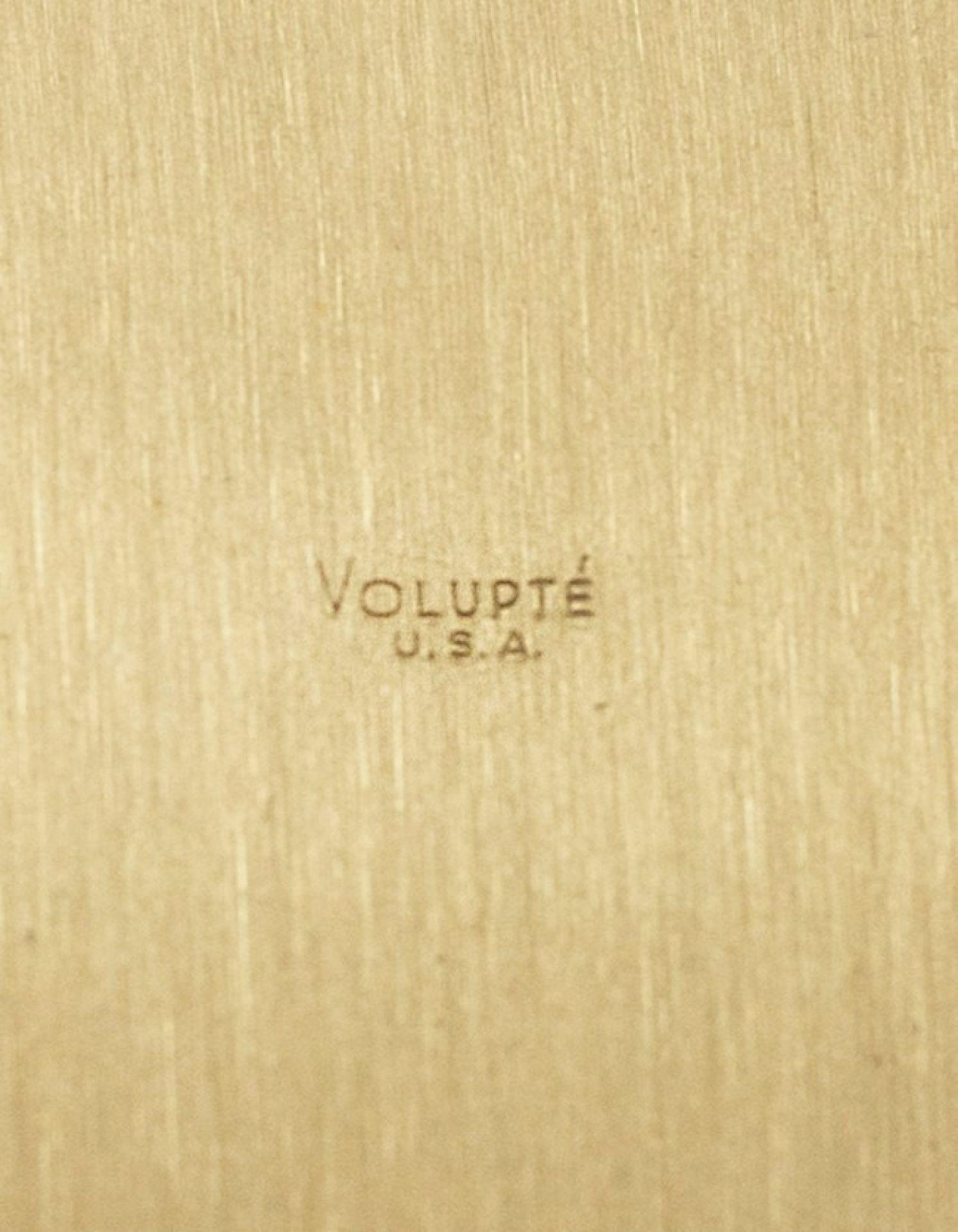 Volupte Goldtone 1950's Vintage Compact Purse