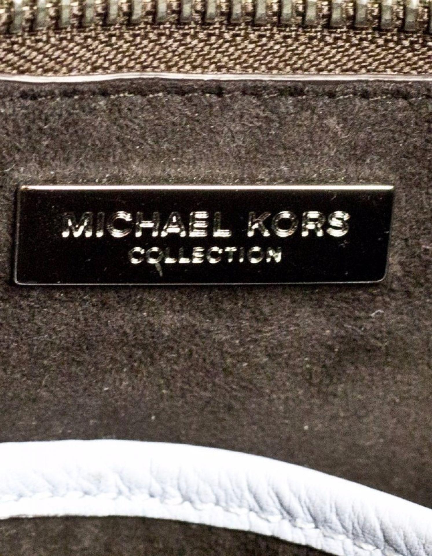 Michael Kors Collection Tri-Color Mini Miranda Tote