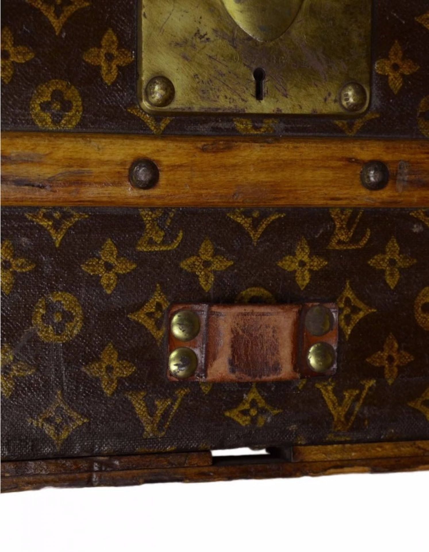 Louis Vuitton Vintage Monogram Rolling Trunk w/Insert