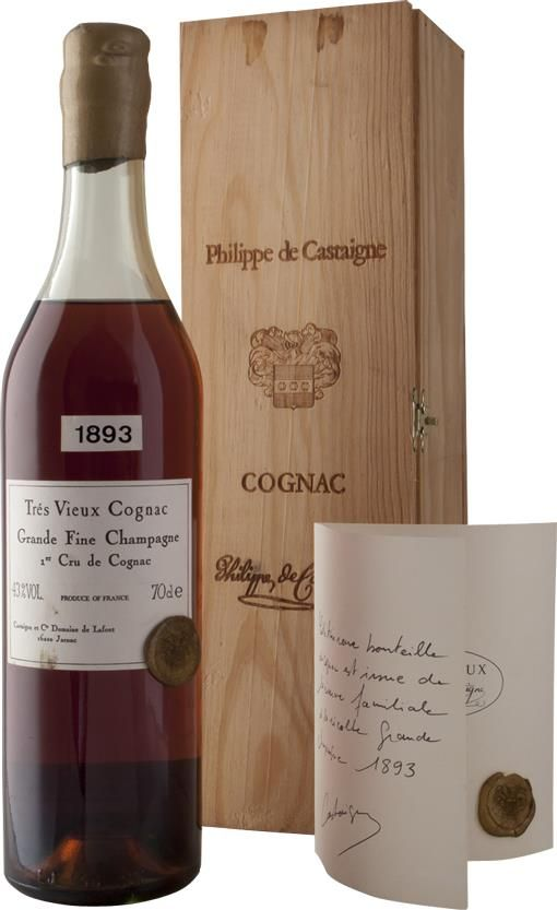 Cognac 1893 Philippe de Castaigne