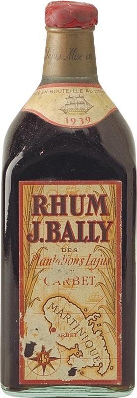 Rum Bally Vintage 1939
