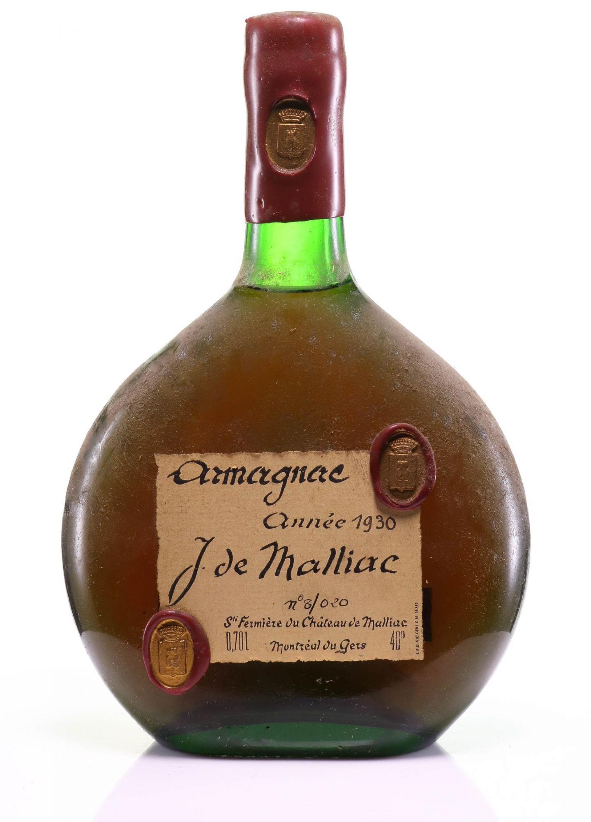 Armagnac 1930 Malliac