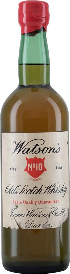 Watson's No.10 Very Fine Whisky 1970s
