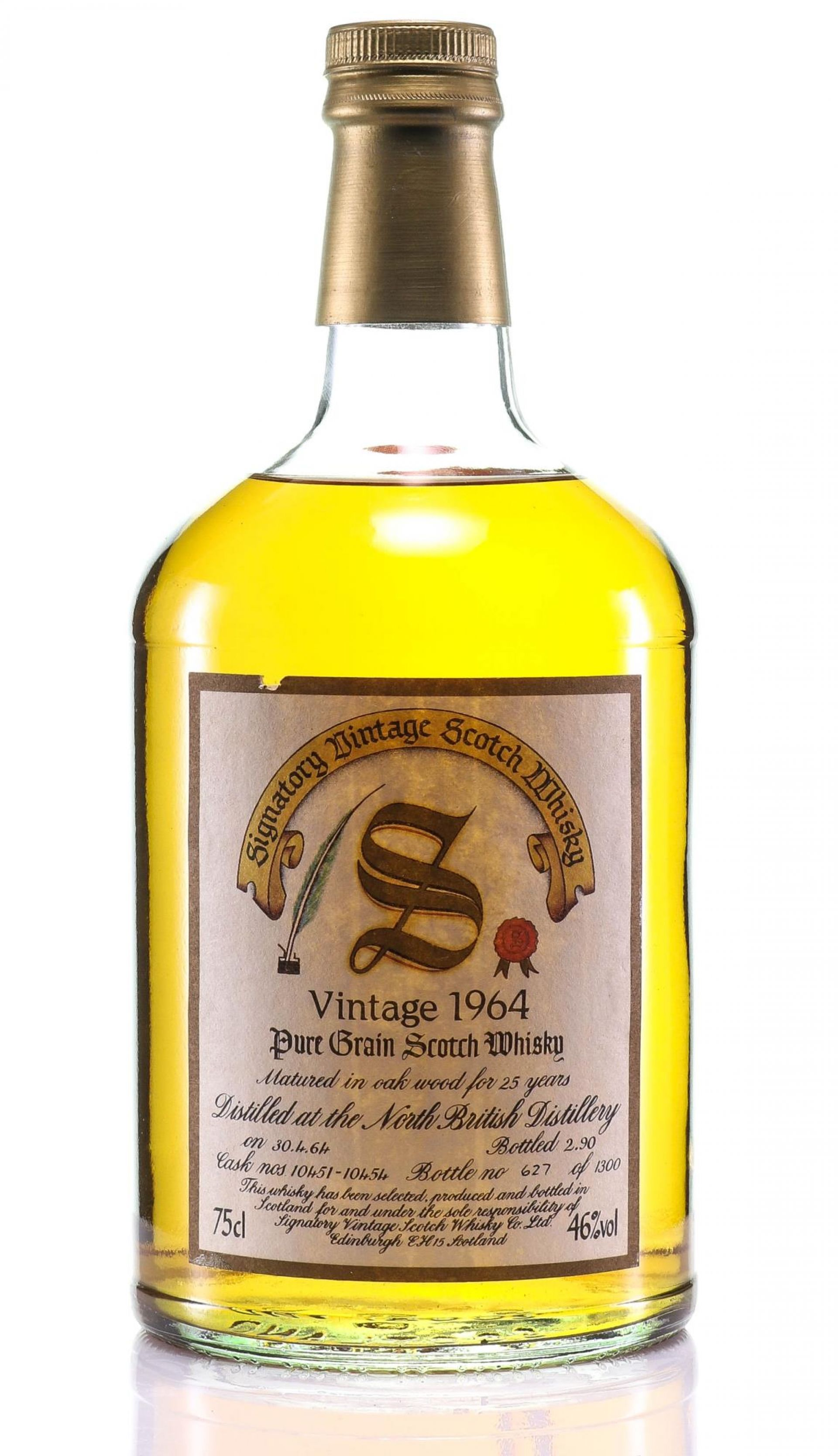 Whisky 1964 North British Signatory