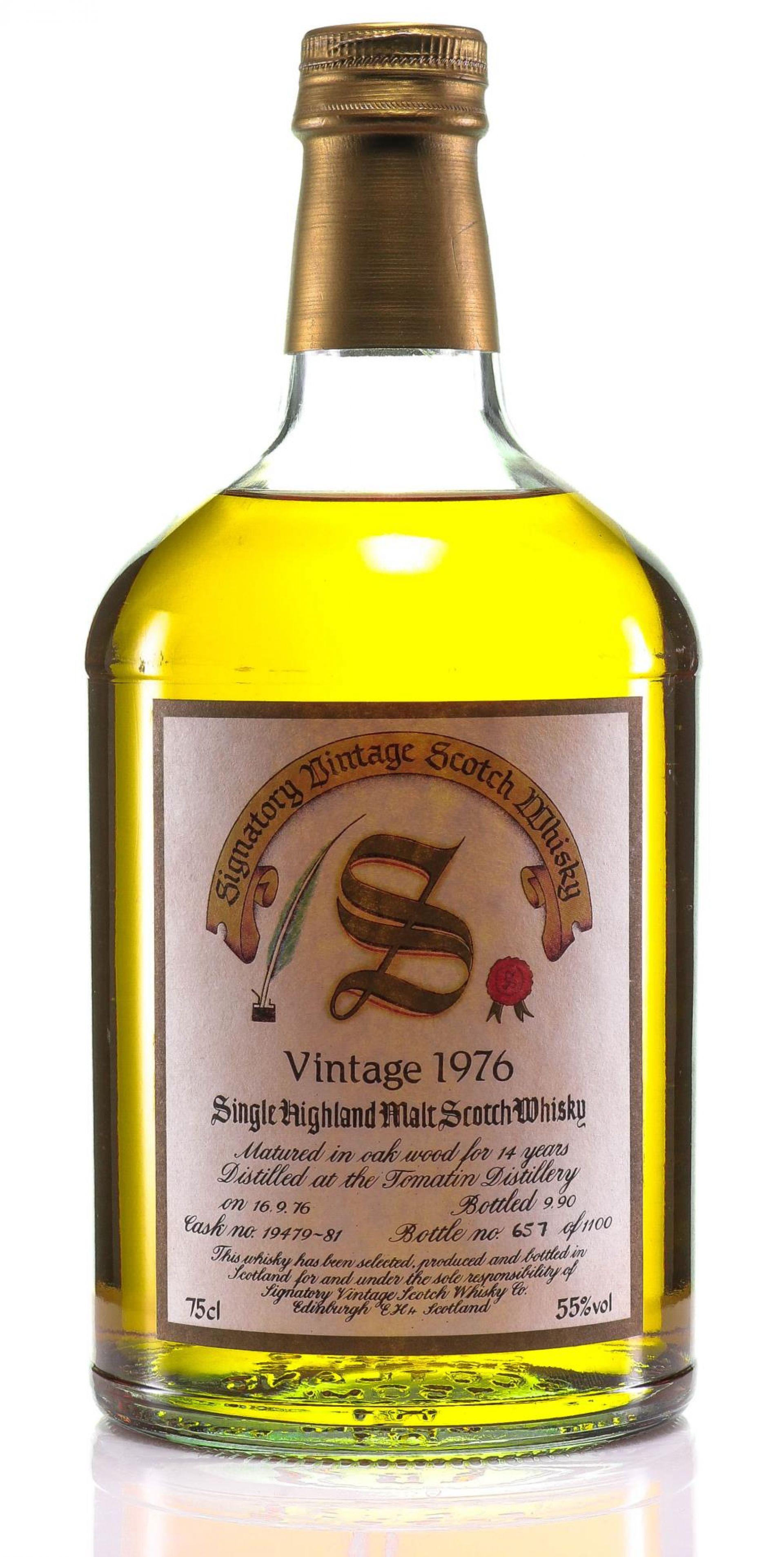 Whisky 1976 Tomatin Signatory