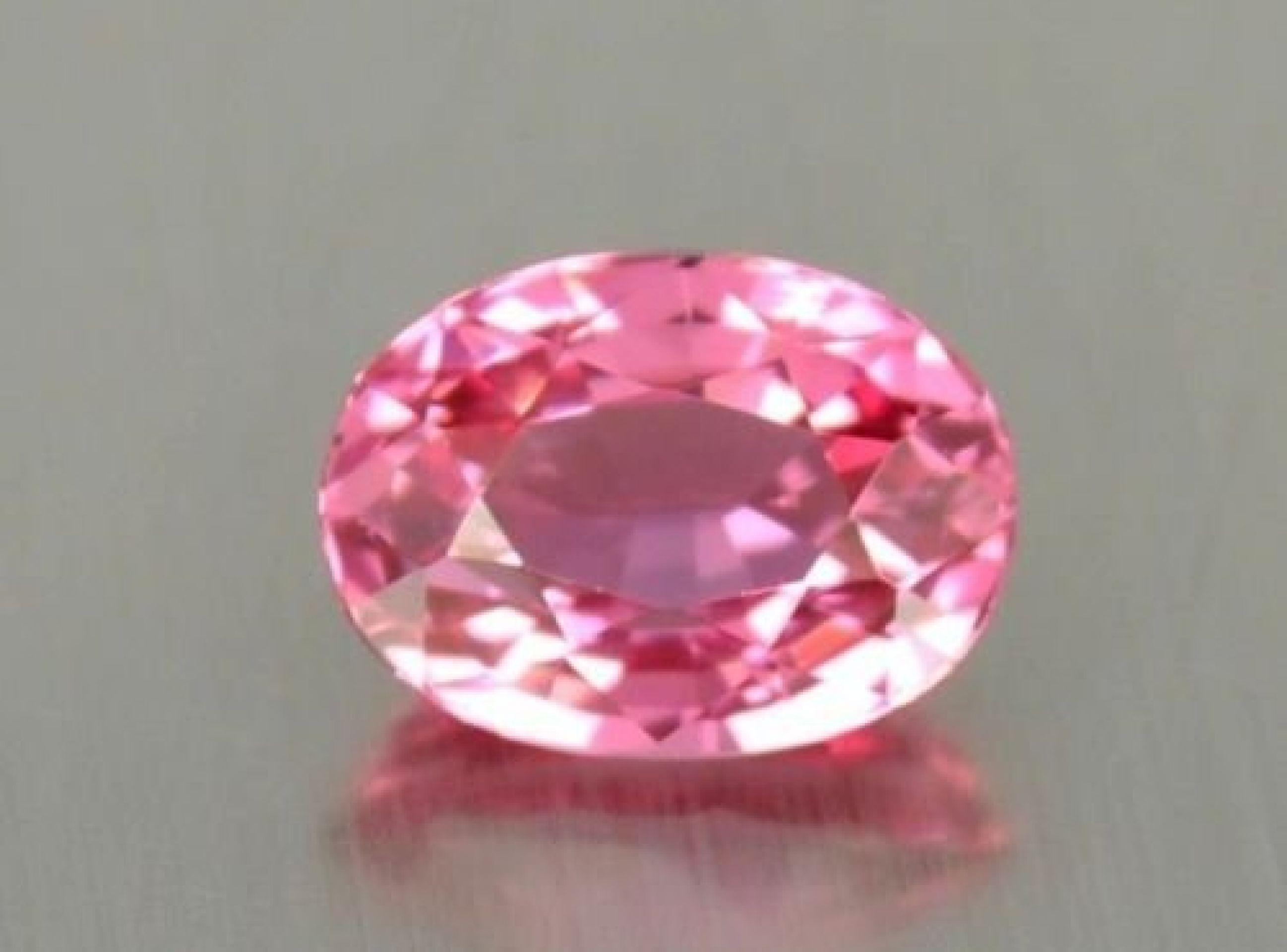 4.40 CT IF PINK 100% NATURAL SPINEL FLAWLESS GEMSTONES CUT 10 X 7.8 X 6MM
