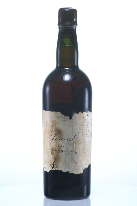 Madeira 1849 Borges, Joao Goncalves Sercial