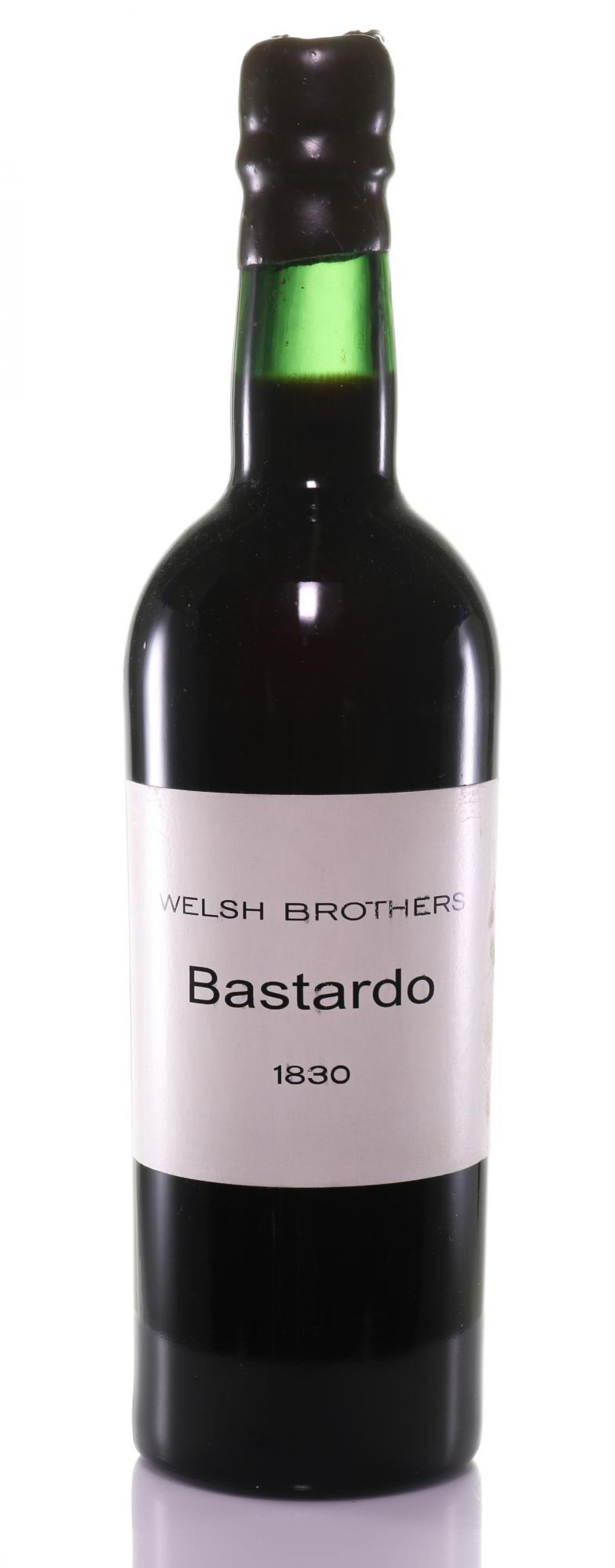 Madeira 1830 Welsh Brothers Bastardo