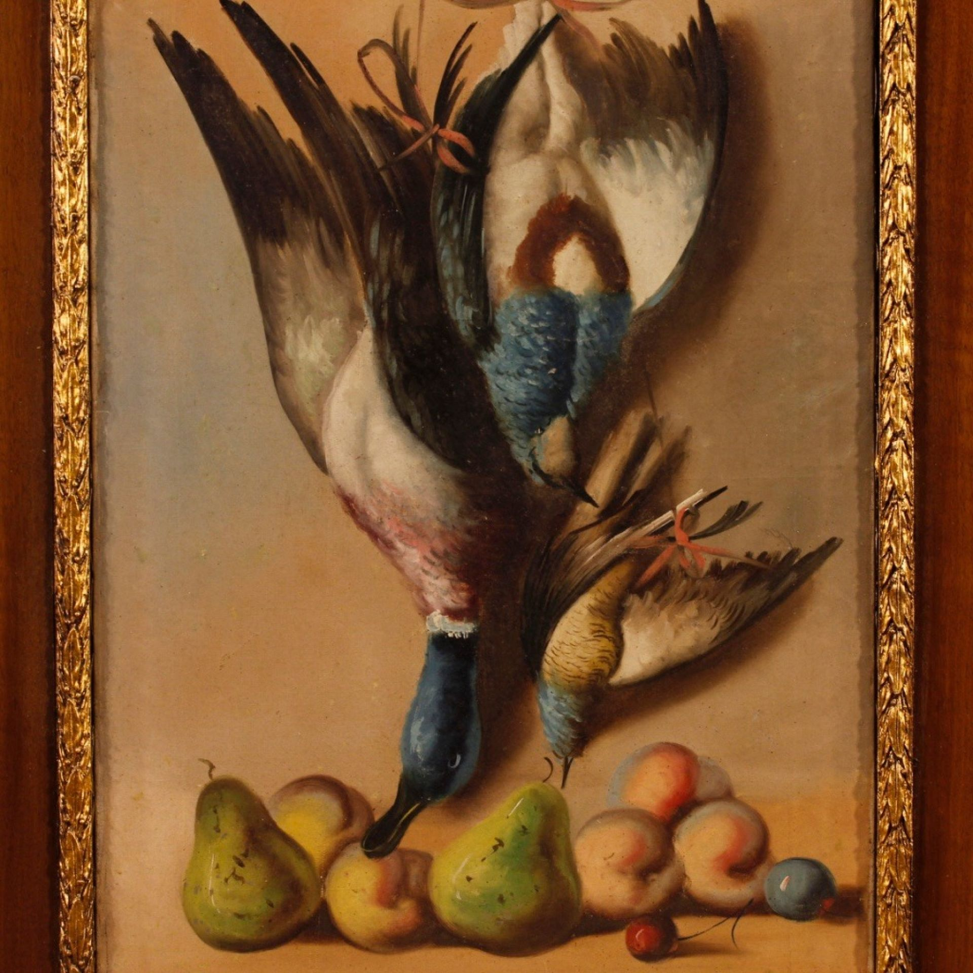 20th Century Oil On Canvas Spanish Signed Still Life Painting, 1920