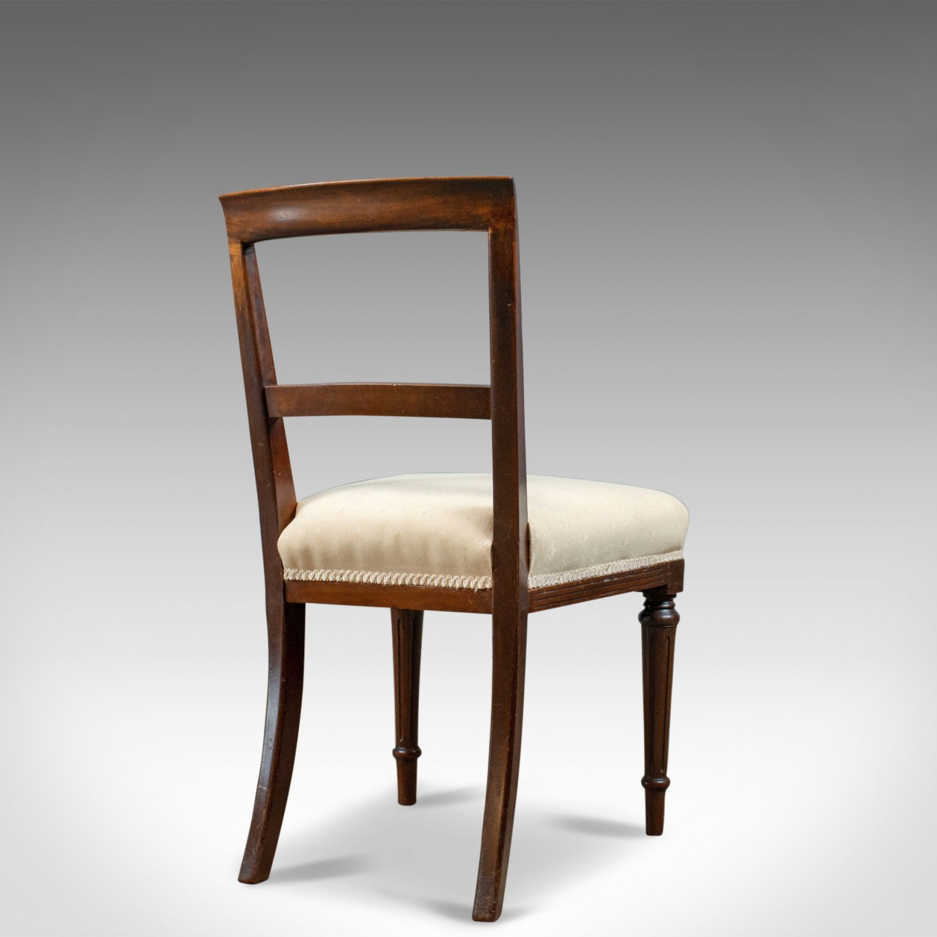 Set of Six Antique Dining Chairs, English, Victorian, Mahogany, Shoolbred, c1840