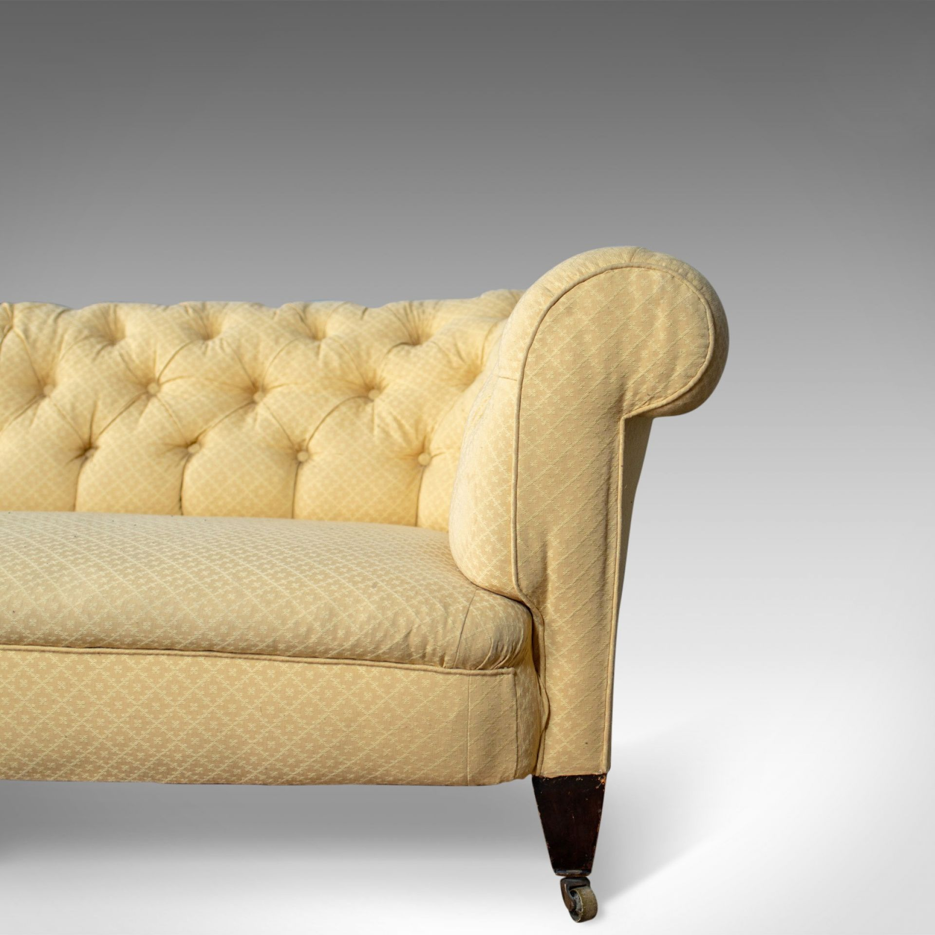 Antique Chesterfield Sofa, English, Victorian, 3 Seater Settee, C19th Circa 1890