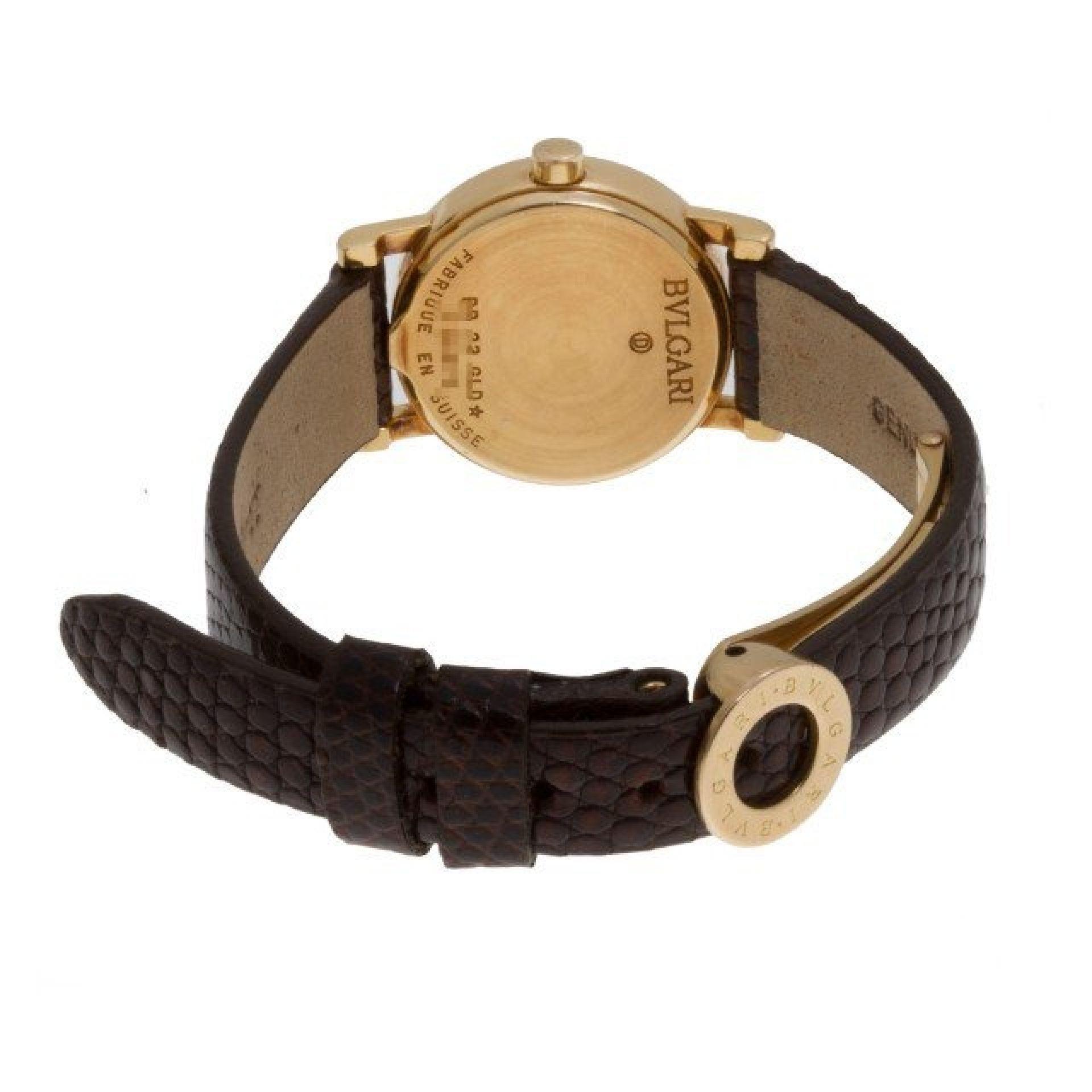 Bvlgari Bvlgari BB23GLD 18k yellow gold Black dial 23mm Quartz watch
