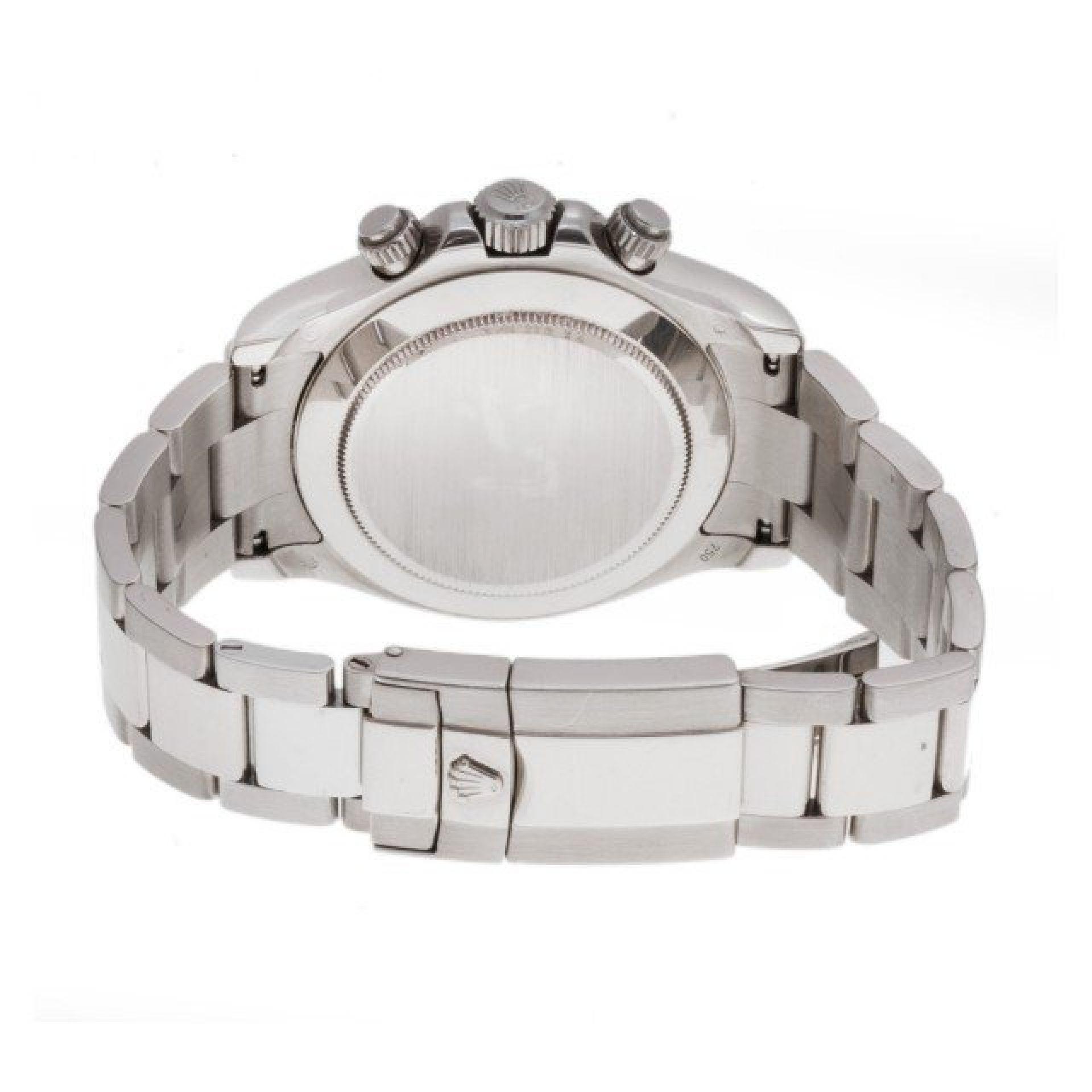 Rolex Daytona 116509 18k white gold Silver dial 40mm auto watch
