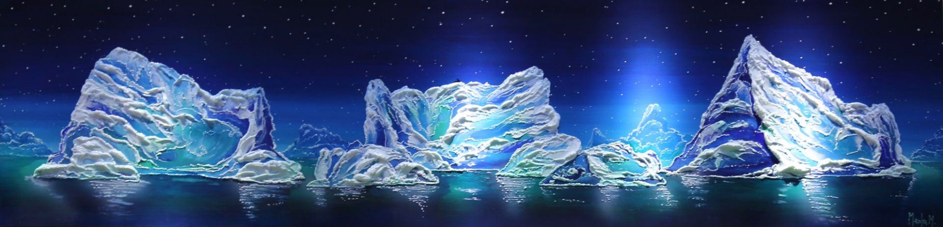 Massimo Meda (Icebergs, cm240x60)