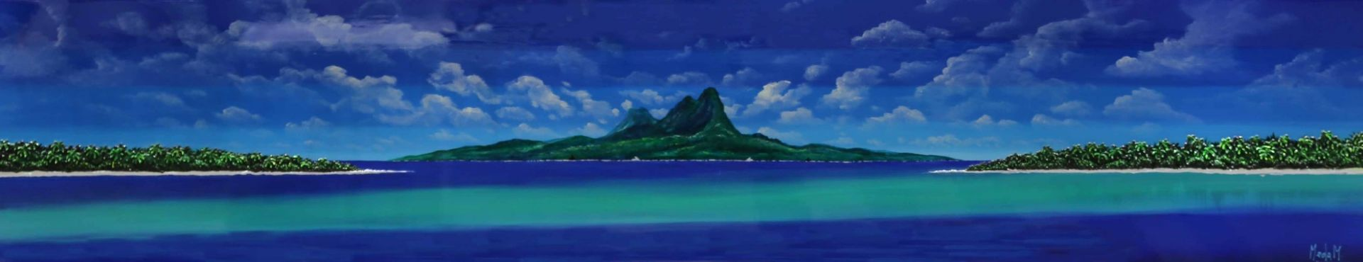 Massimo Meda (Polynesia, cm240x60)