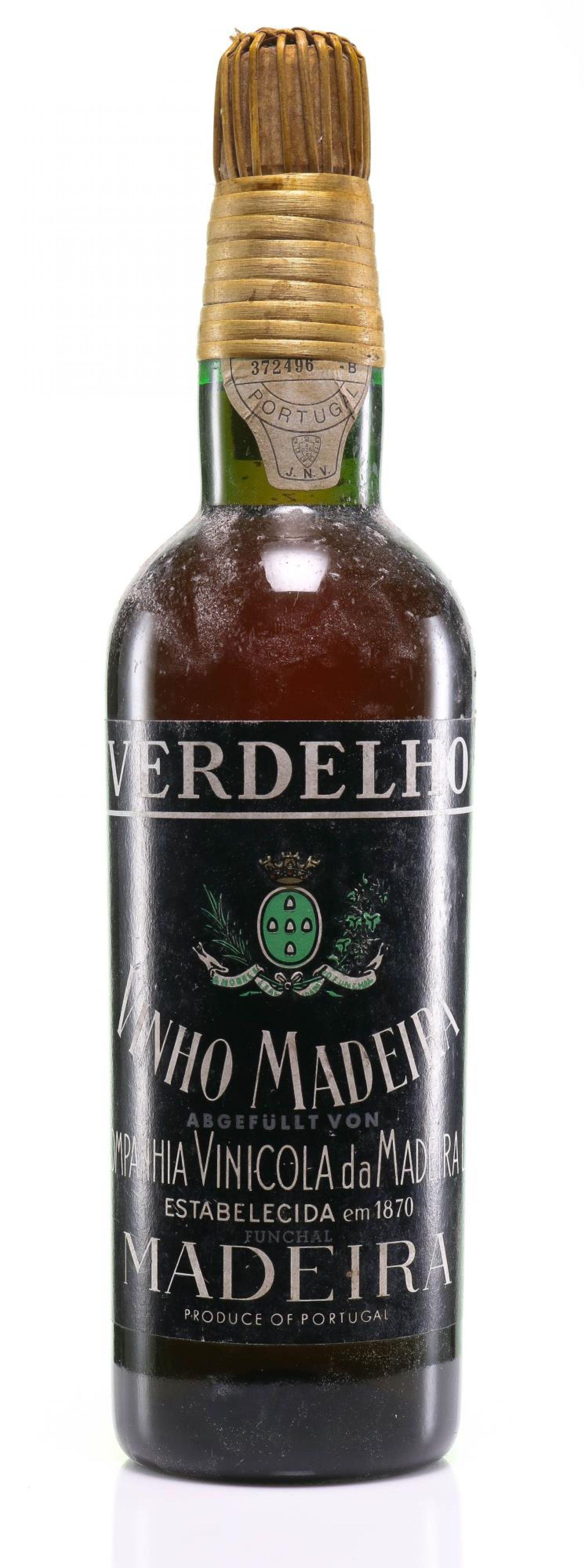 Madeira Verdelho Companhia Vinicola da Madeira