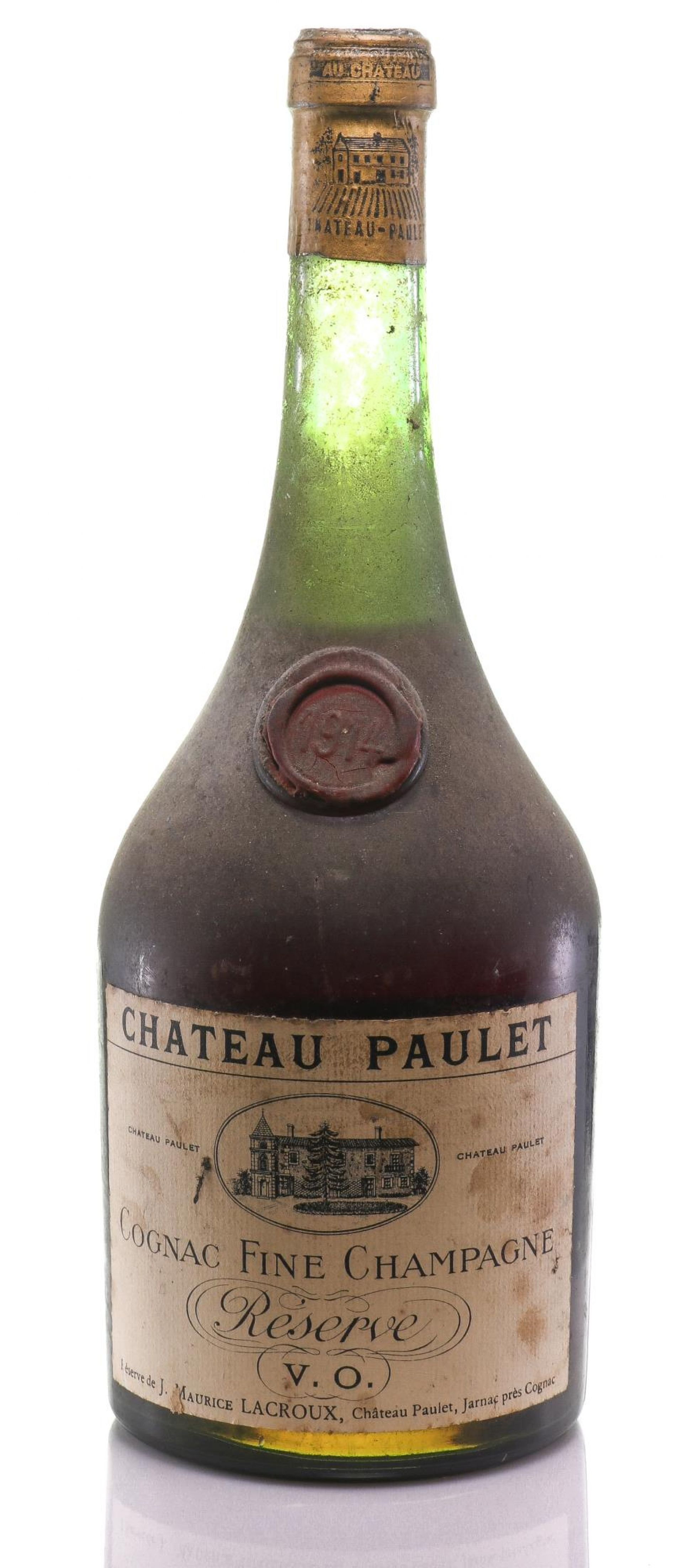 Cognac 1914 Château Paulet
