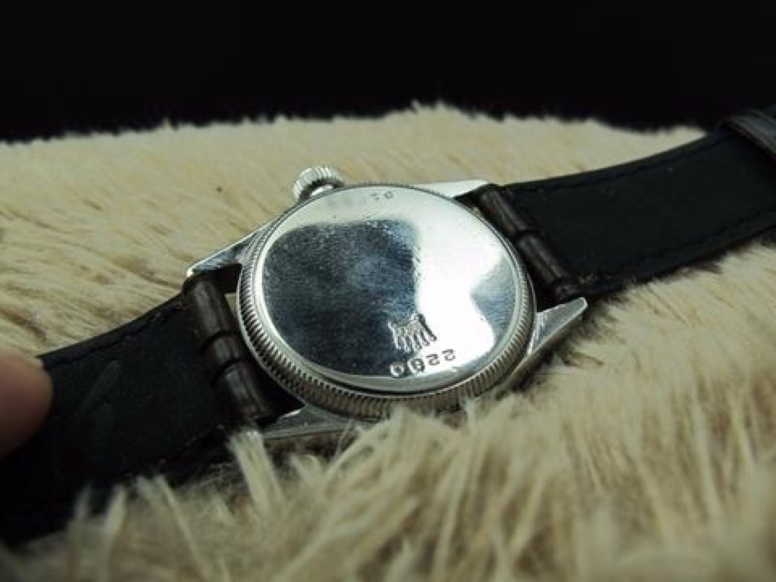 """1939 ROLEX OYSTER ROYAL 2280 WITH ARABIC NUMERALS SIGNED WITH """"BUCHERER'S"""""""