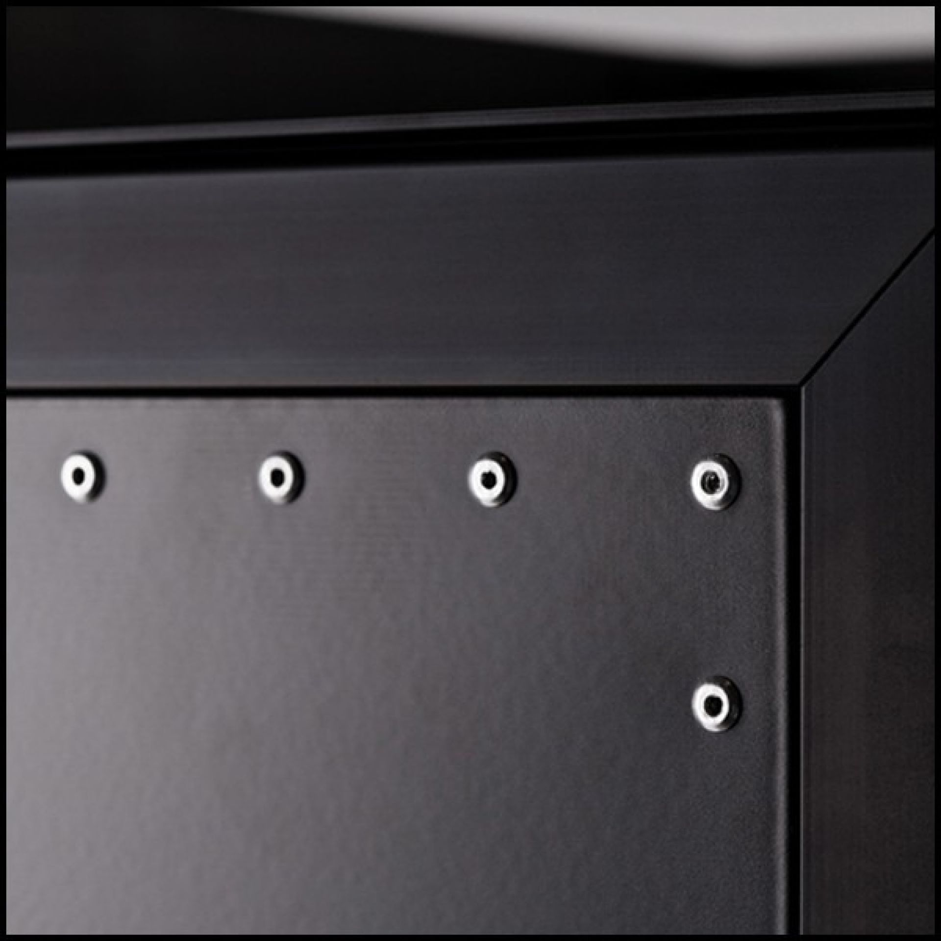 UNIQUE DESIGN AIRLINER BAR CART BLACK RIVETED 159-BLACK RIVET