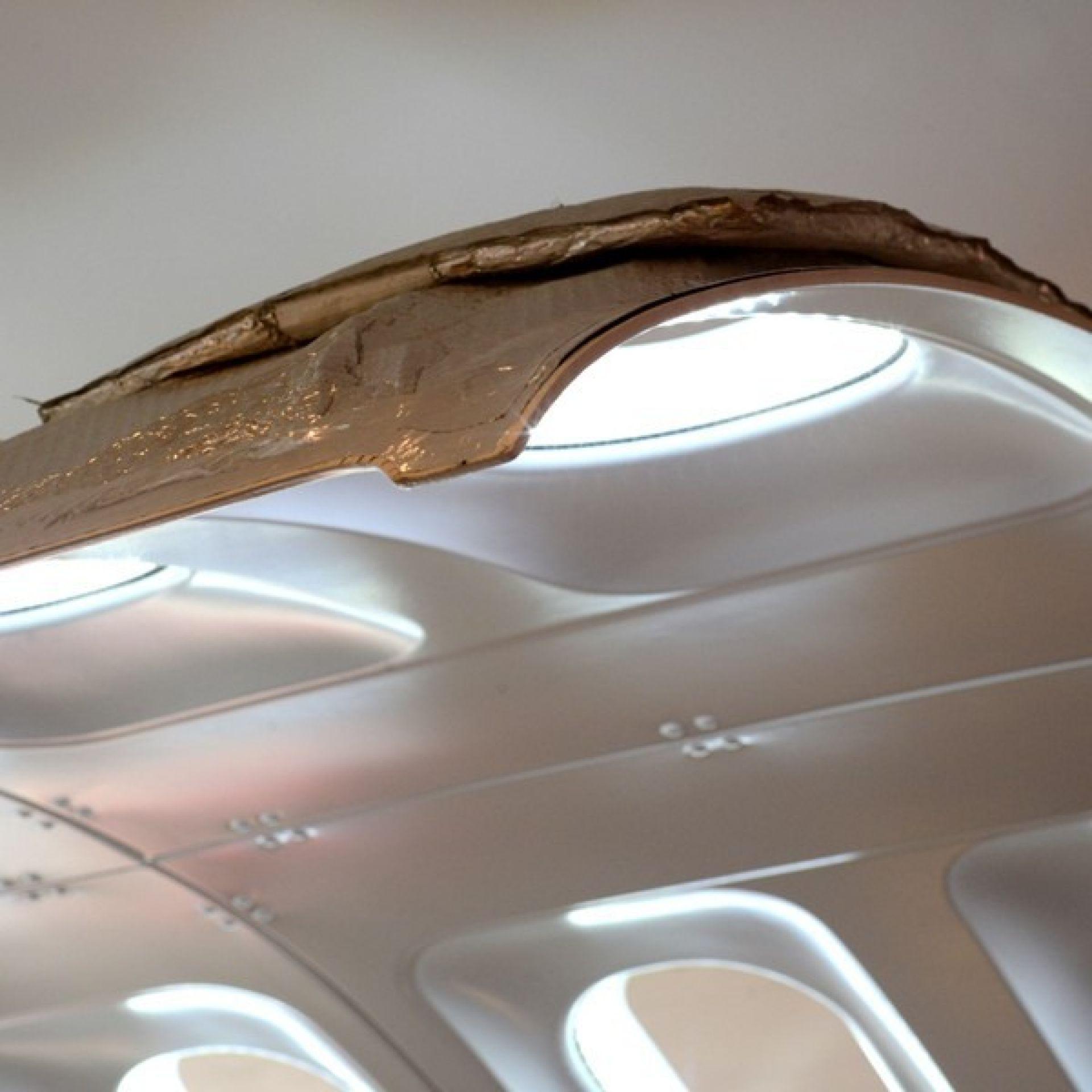 AIRCRAFT FUSELAGE PORTLIGHT LUMINAIRE 144-FUSELAGE ART