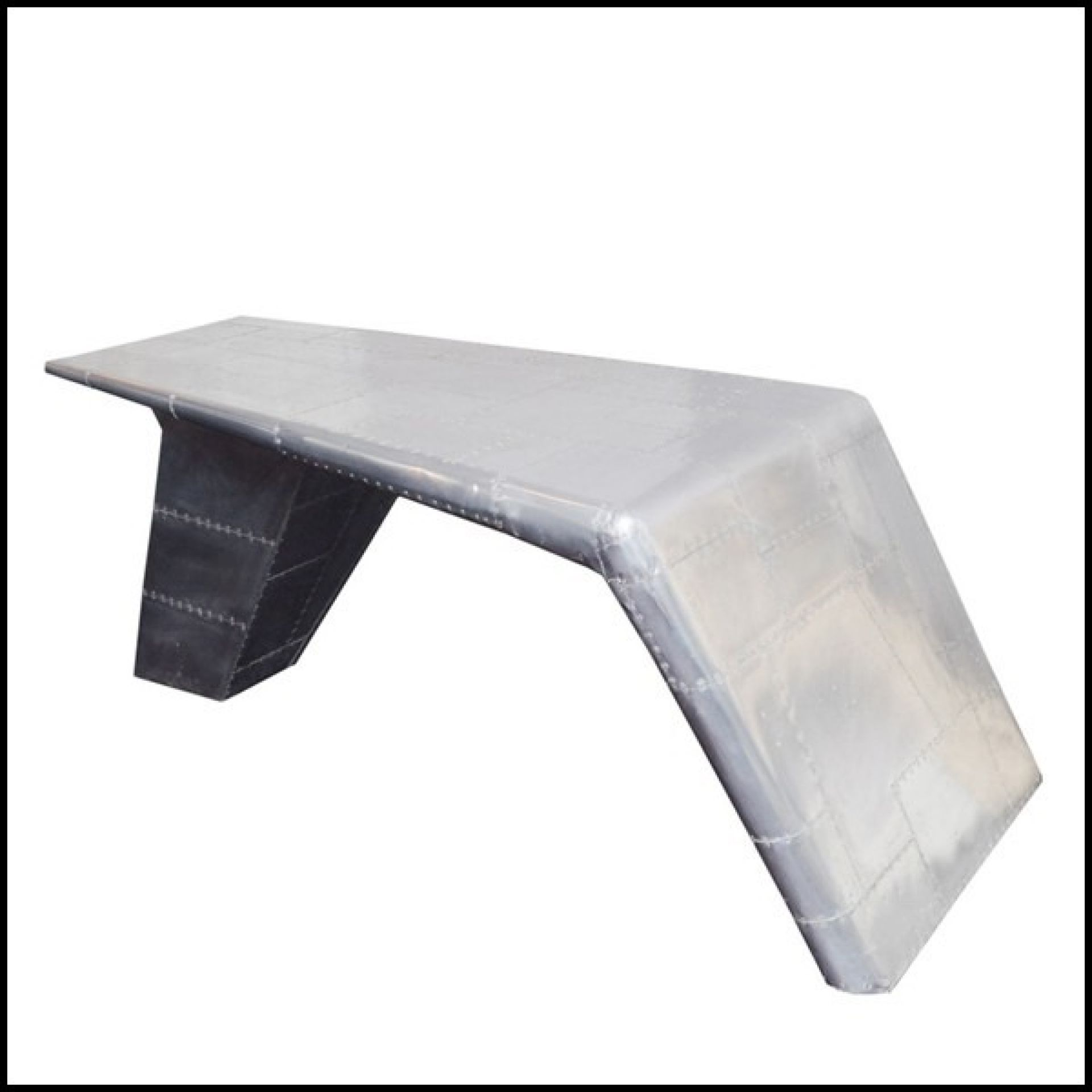 JET RIVETED ALUMINUM FIGHTER WING OFFICE 22-AVIATOR
