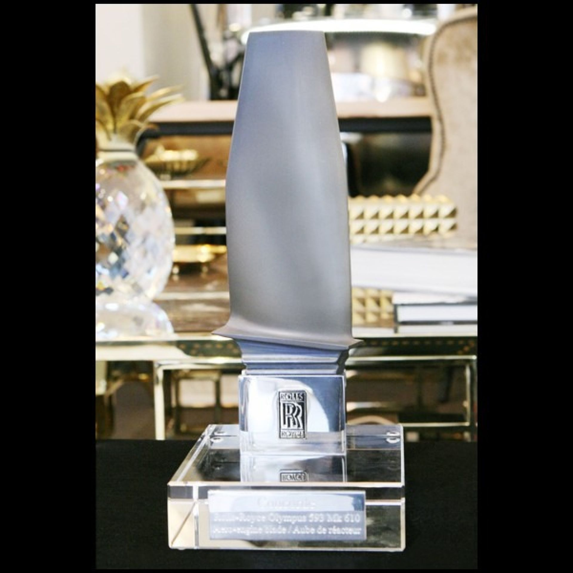 ROLLS-ROYCE SUPERSONIC REACTOR WING SCULPTURE OLYMPUS 593 MK 610 PC-CONCORDE 2
