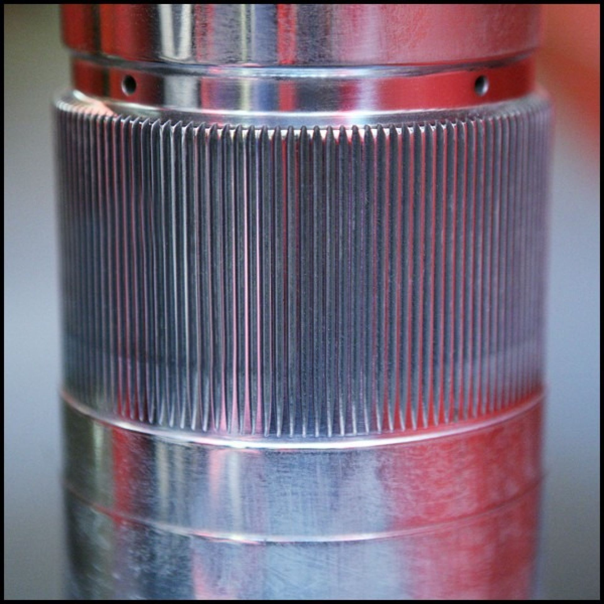 SIDE TABLE MADE FROM A BOEING PC-BOEING 737 AIRCRAFT ENGINE TITANIUM GEAR