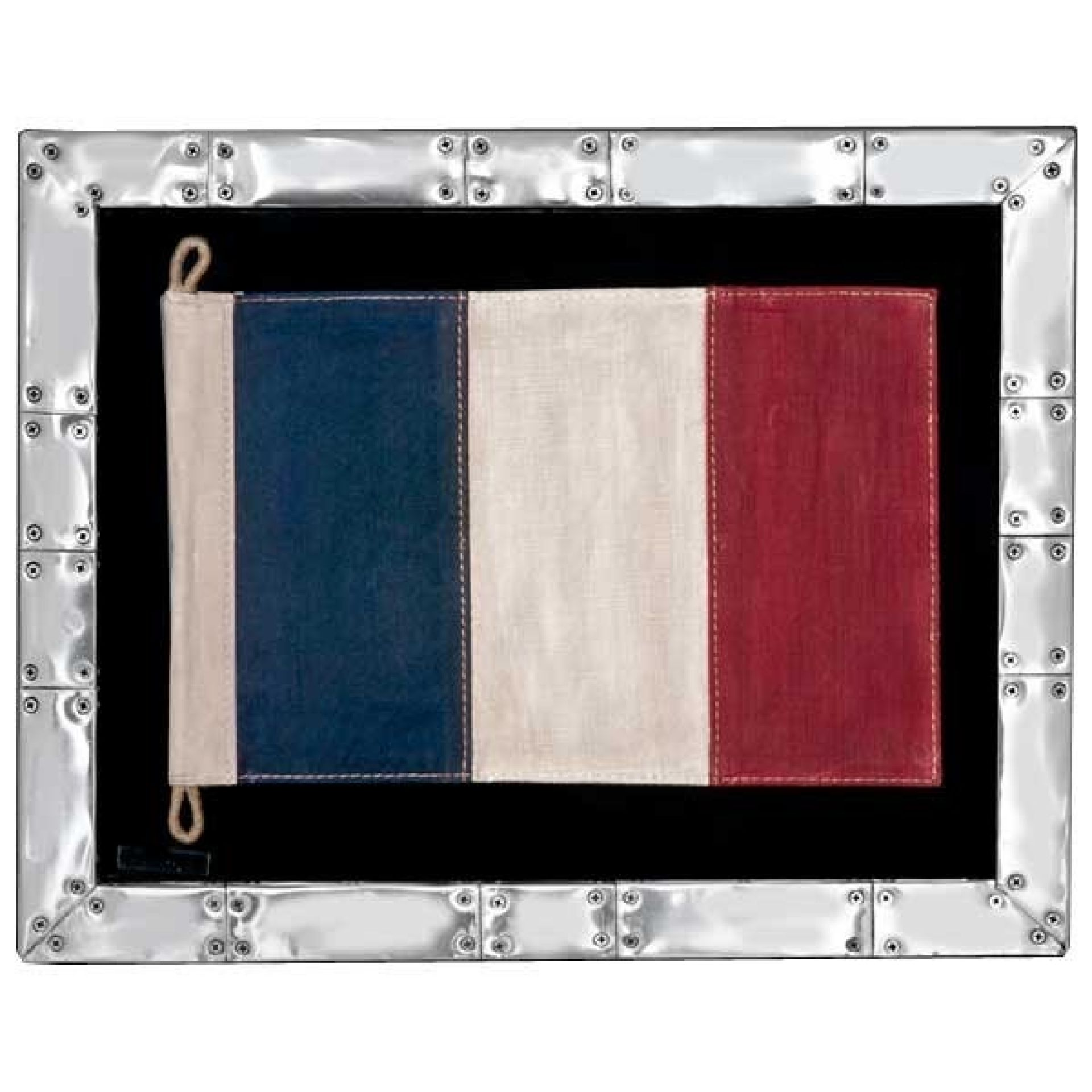 FLAG UNDER FRAME 22-FRENCH-SPITFIRE
