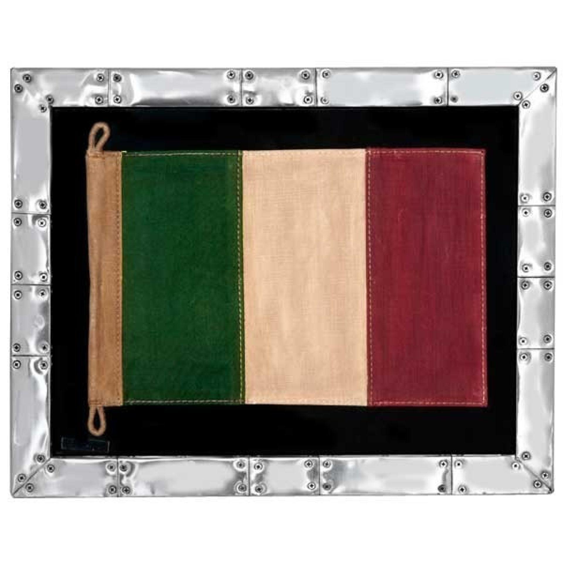 FLAG UNDER FRAME 22-ITALY-SPITFIRE