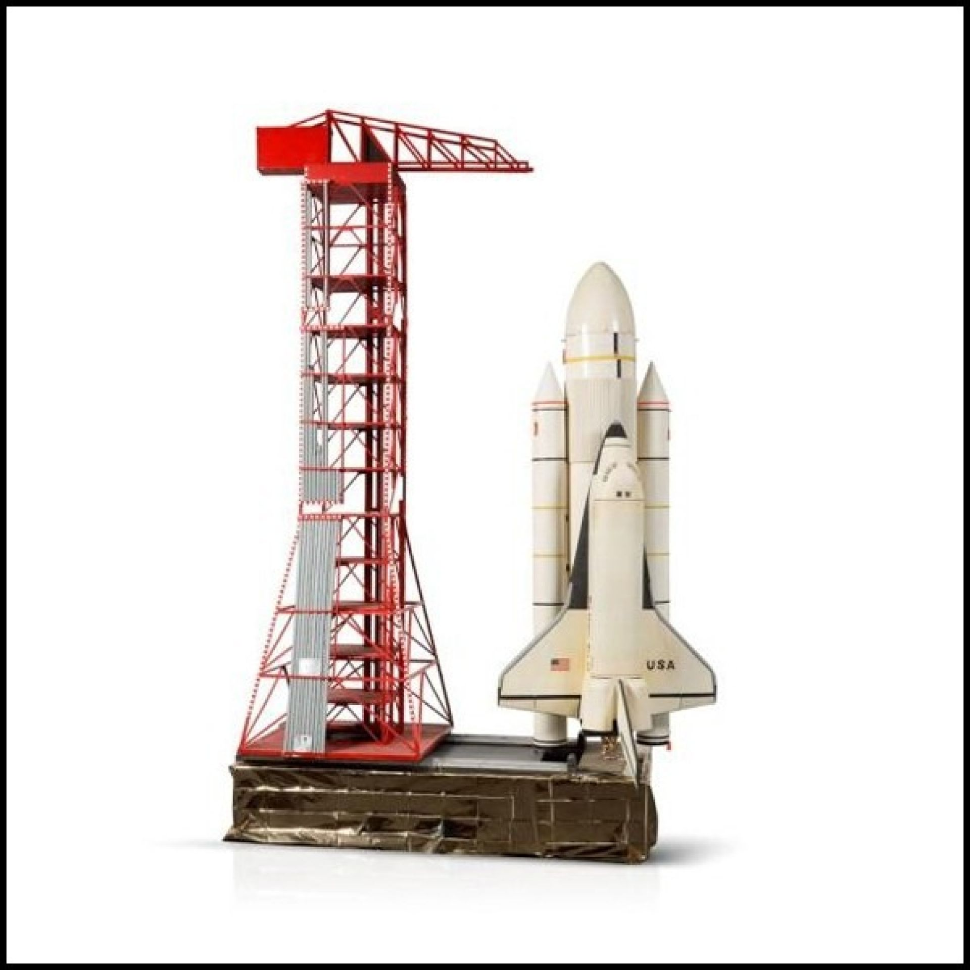 COLUMBIA SHUTTLE AND RESIN MODEL COLUMBIA SHUTTLE COLUMBIA PC-SHUTTLE COLUMBIA