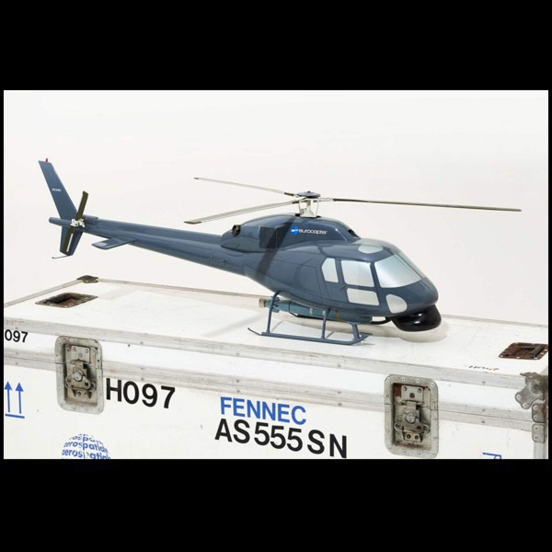 LIGHT HELICOPTER MODEL AS555 FENNEC PC-FENNEC HELICOPTER