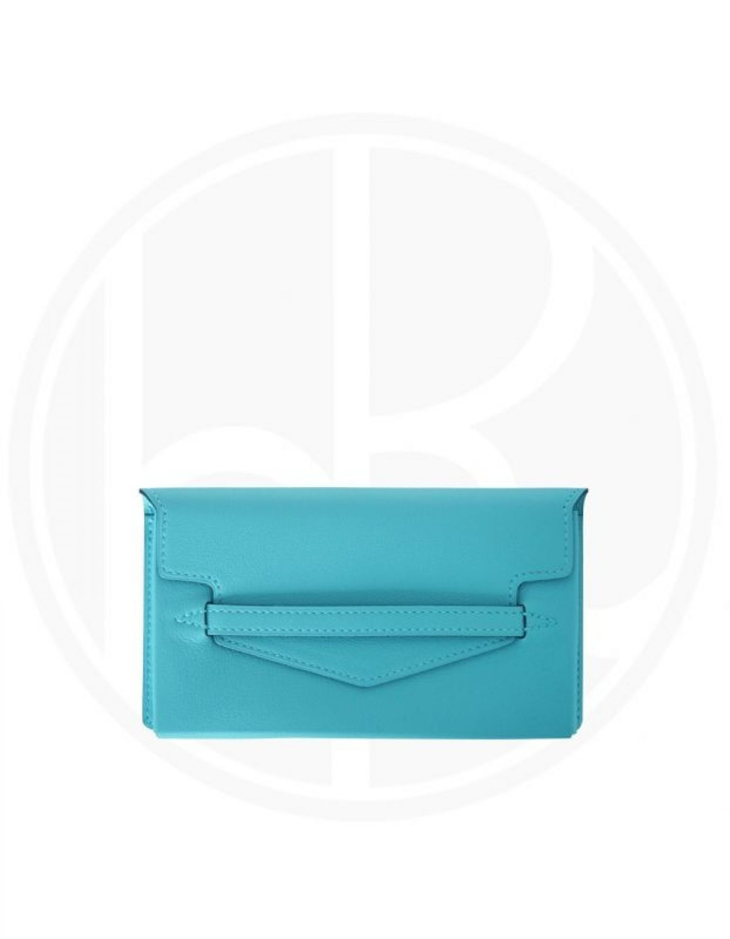 HERMÈS  Smart Pouch Swift Blue Atoll